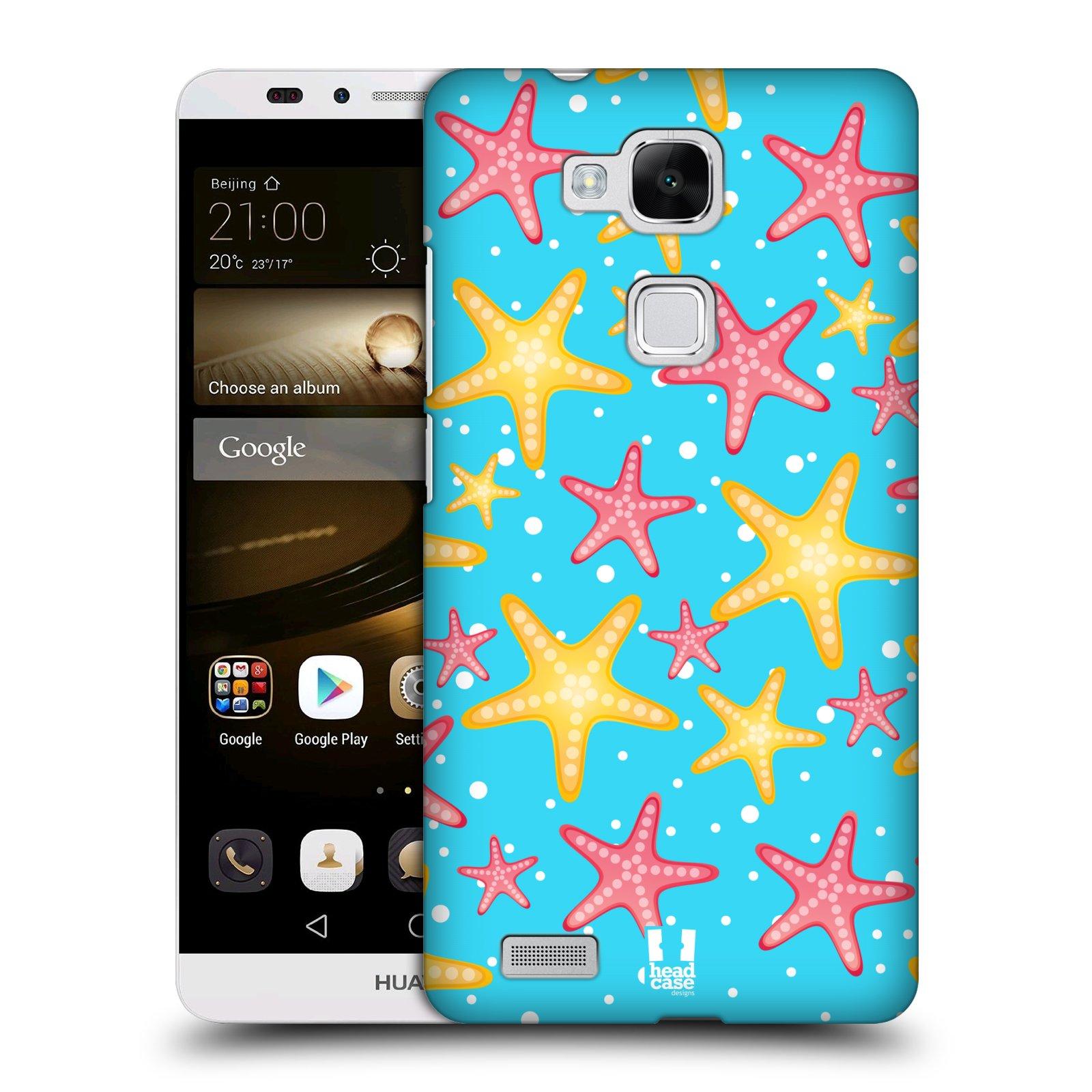 HEAD CASE plastový obal na mobil Huawei Mate 7 vzor mořský živočich hvězda