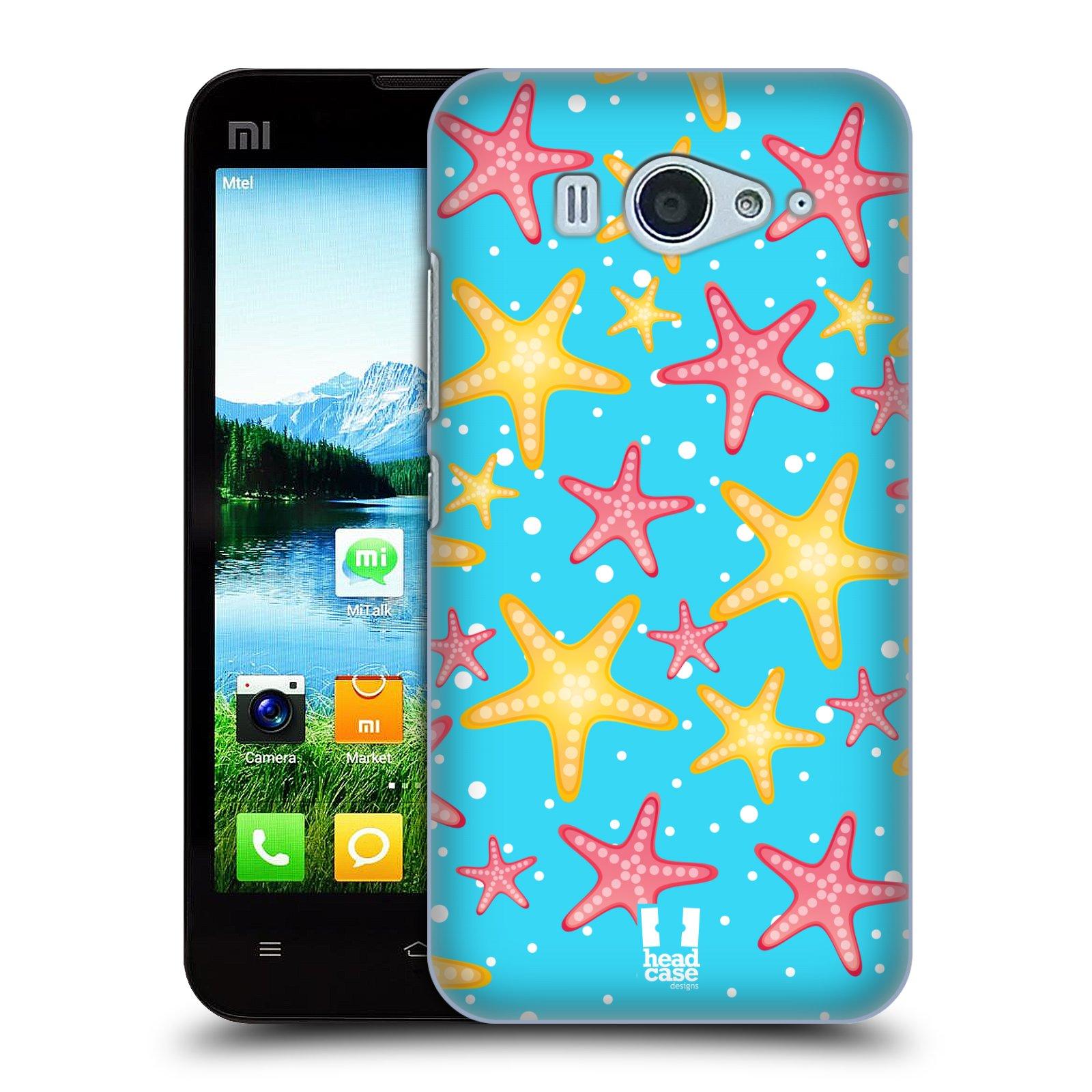 HEAD CASE pevný plastový obal na mobil XIAOMI MI2s vzor mořský živočich hvězda