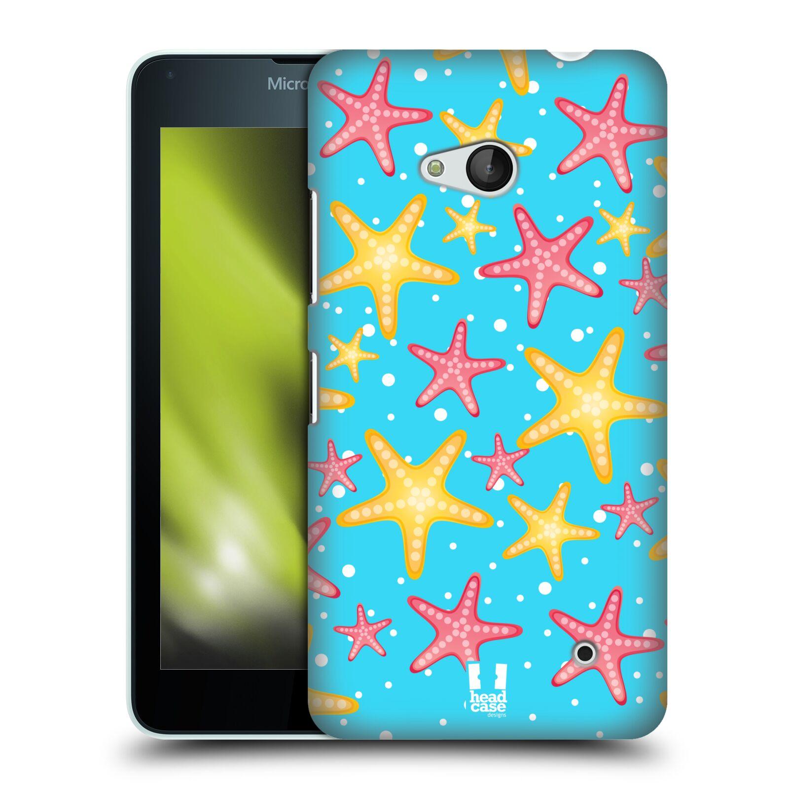 HEAD CASE plastový obal na mobil Nokia Lumia 640 vzor mořský živočich hvězda