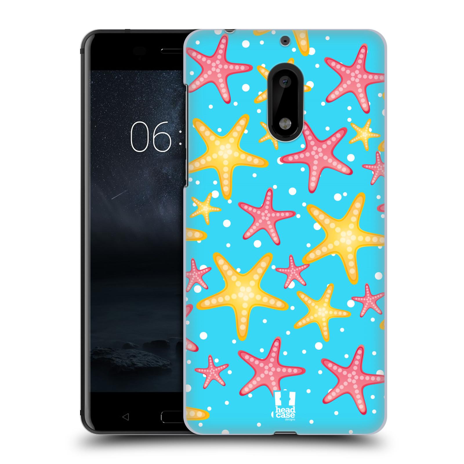 HEAD CASE plastový obal na mobil Nokia 6 vzor mořský živočich hvězda