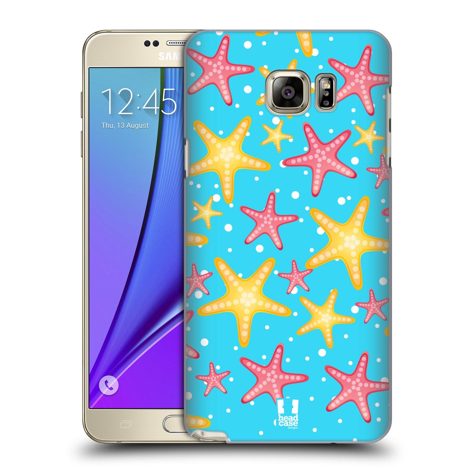 HEAD CASE plastový obal na mobil SAMSUNG Galaxy Note 5 (N920) vzor mořský živočich hvězda