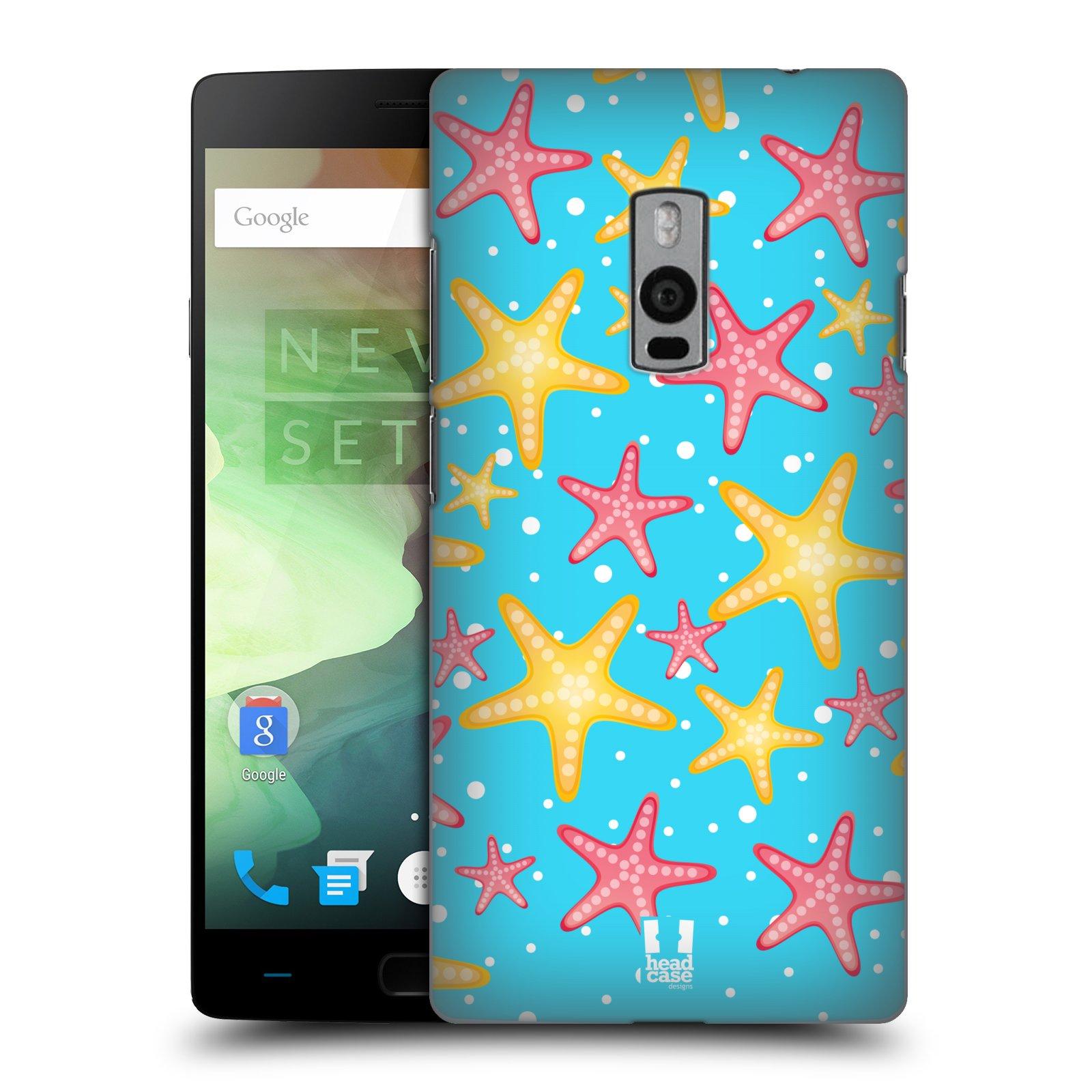 HEAD CASE pevný plastový obal na mobil OnePlus 2  ( TWO ) vzor mořský živočich hvězda