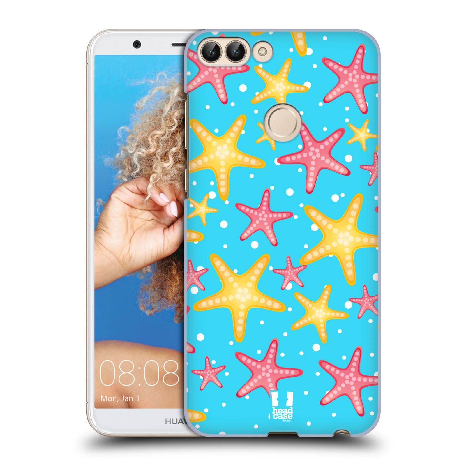 HEAD CASE plastový obal na mobil Huawei P Smart vzor mořský živočich hvězda