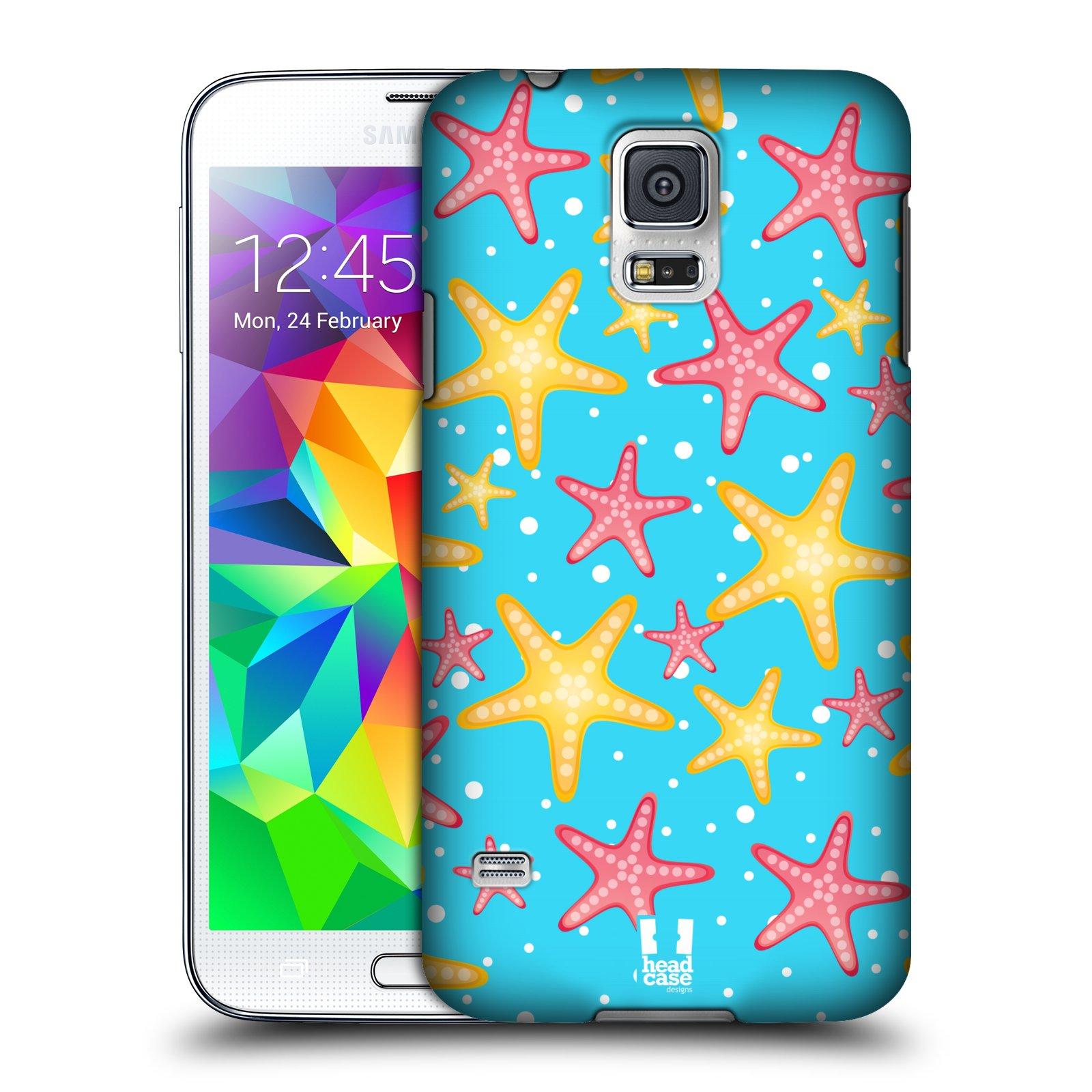HEAD CASE plastový obal na mobil SAMSUNG Galaxy SS / S5 NEO (G900, G903F) vzor mořský živočich hvězda