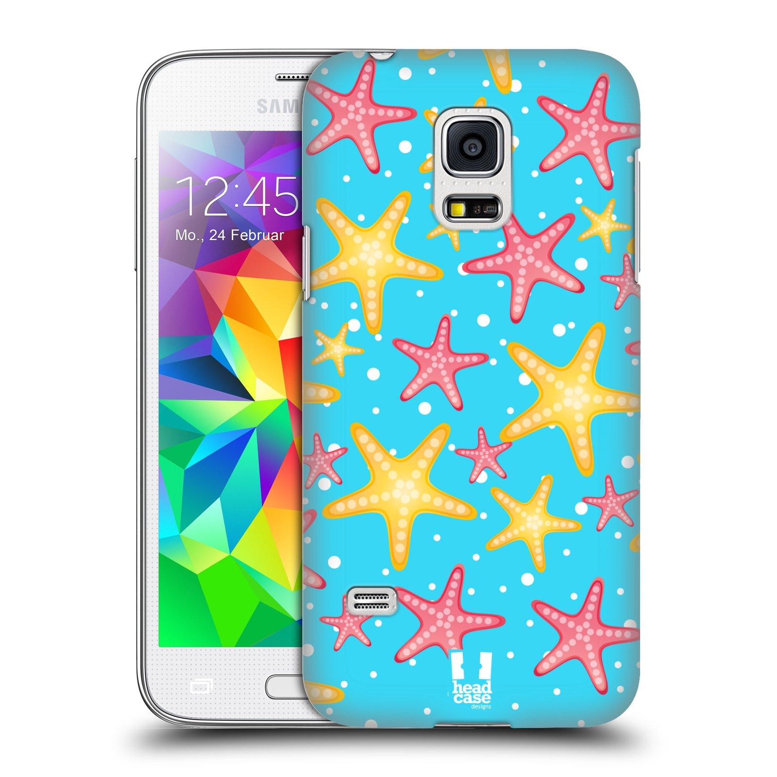 HEAD CASE plastový obal na mobil SAMSUNG Galaxy S5 MINI / S5 MINI DUOS vzor mořský živočich hvězda