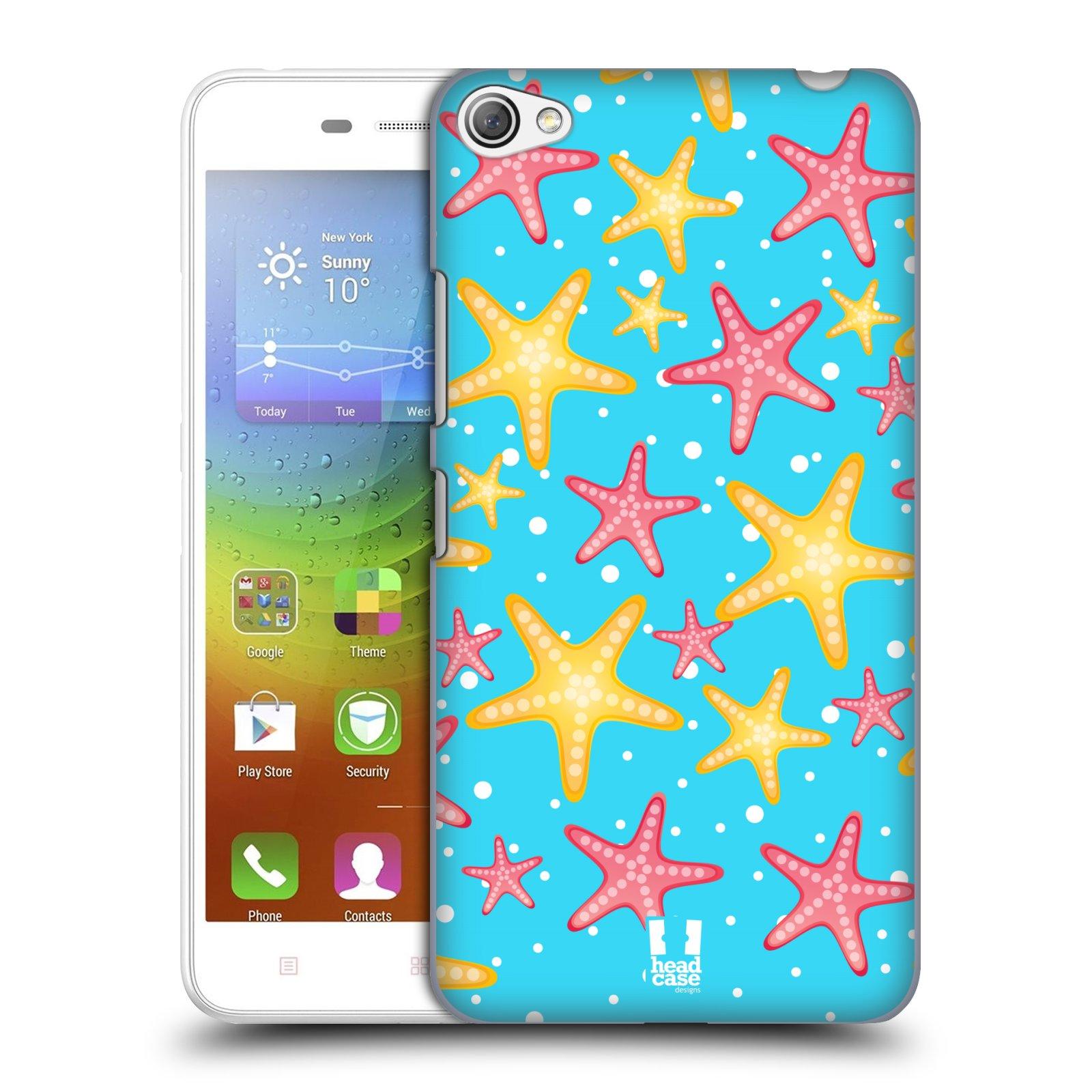 HEAD CASE pevný plastový obal na mobil LENOVO S60 / LENOVO S60 DUAL SIM vzor mořský živočich hvězda