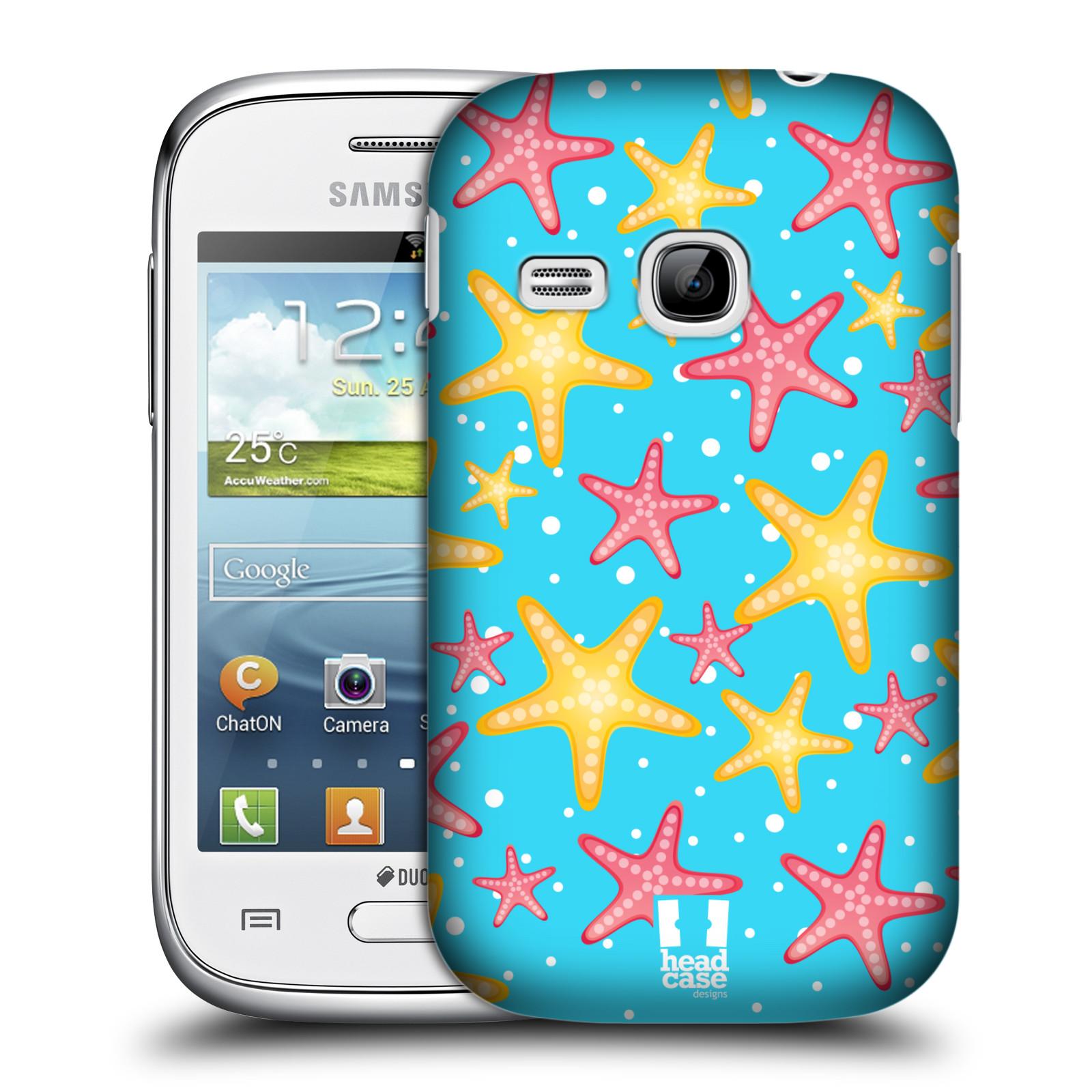 HEAD CASE plastový obal na mobil SAMSUNG Galaxy Young S6310 vzor mořský živočich hvězda