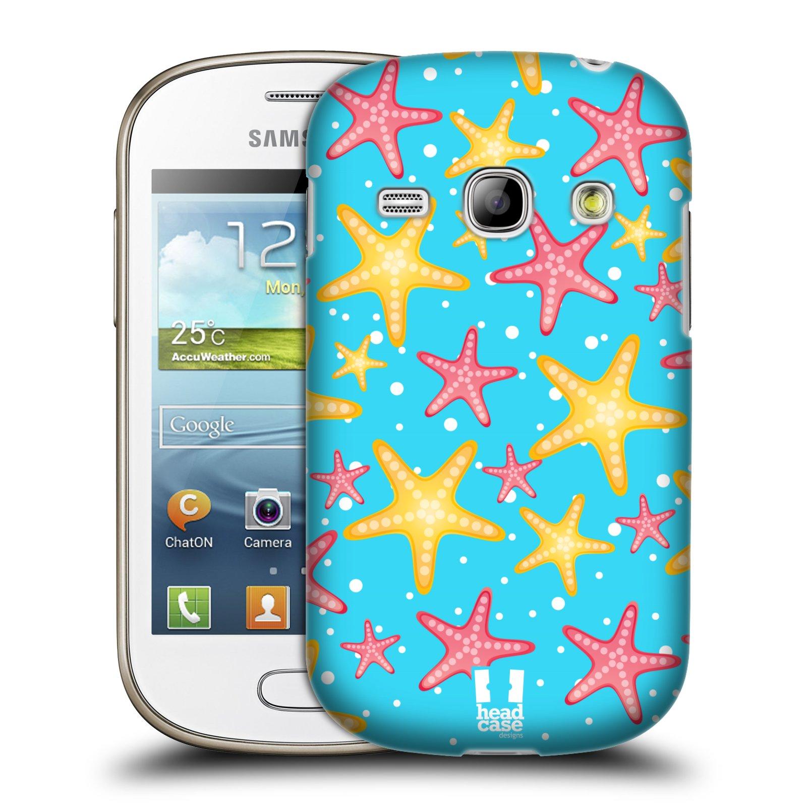 HEAD CASE plastový obal na mobil SAMSUNG GALAXY FAME (S6810) vzor mořský živočich hvězda