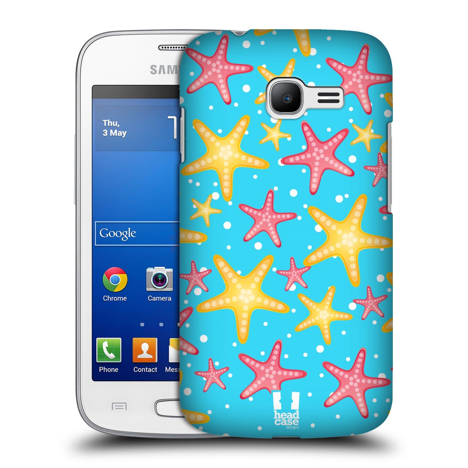 HEAD CASE plastový obal na mobil SAMSUNG GALAXY Star Pro S7260/S7262 DUOS vzor mořský živočich hvězda