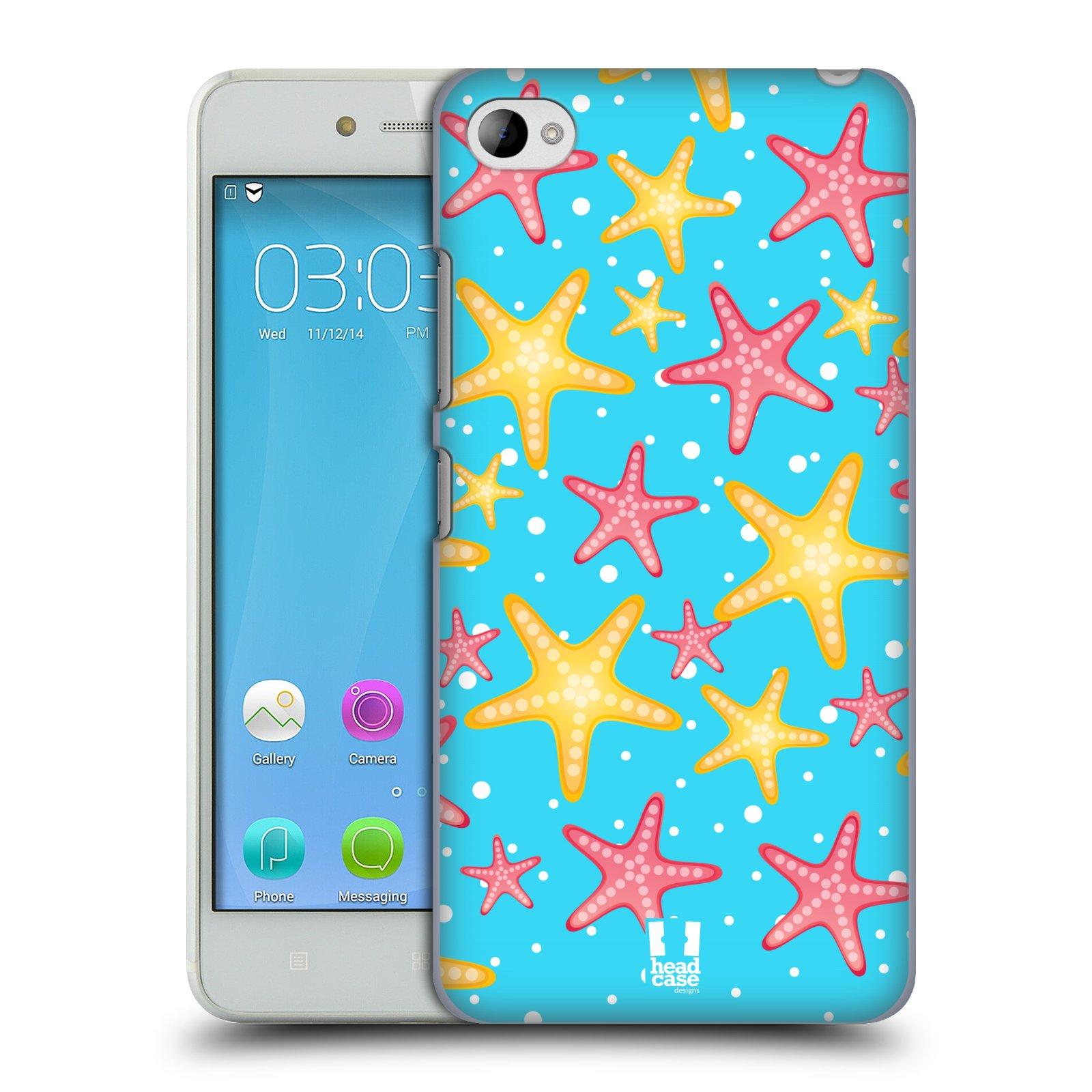 HEAD CASE pevný plastový obal na mobil LENOVO S90 vzor mořský živočich hvězda