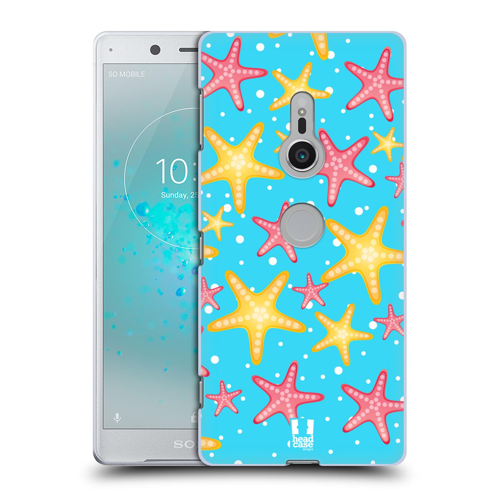 HEAD CASE plastový obal na mobil Sony Xperia XZ2 vzor mořský živočich hvězda
