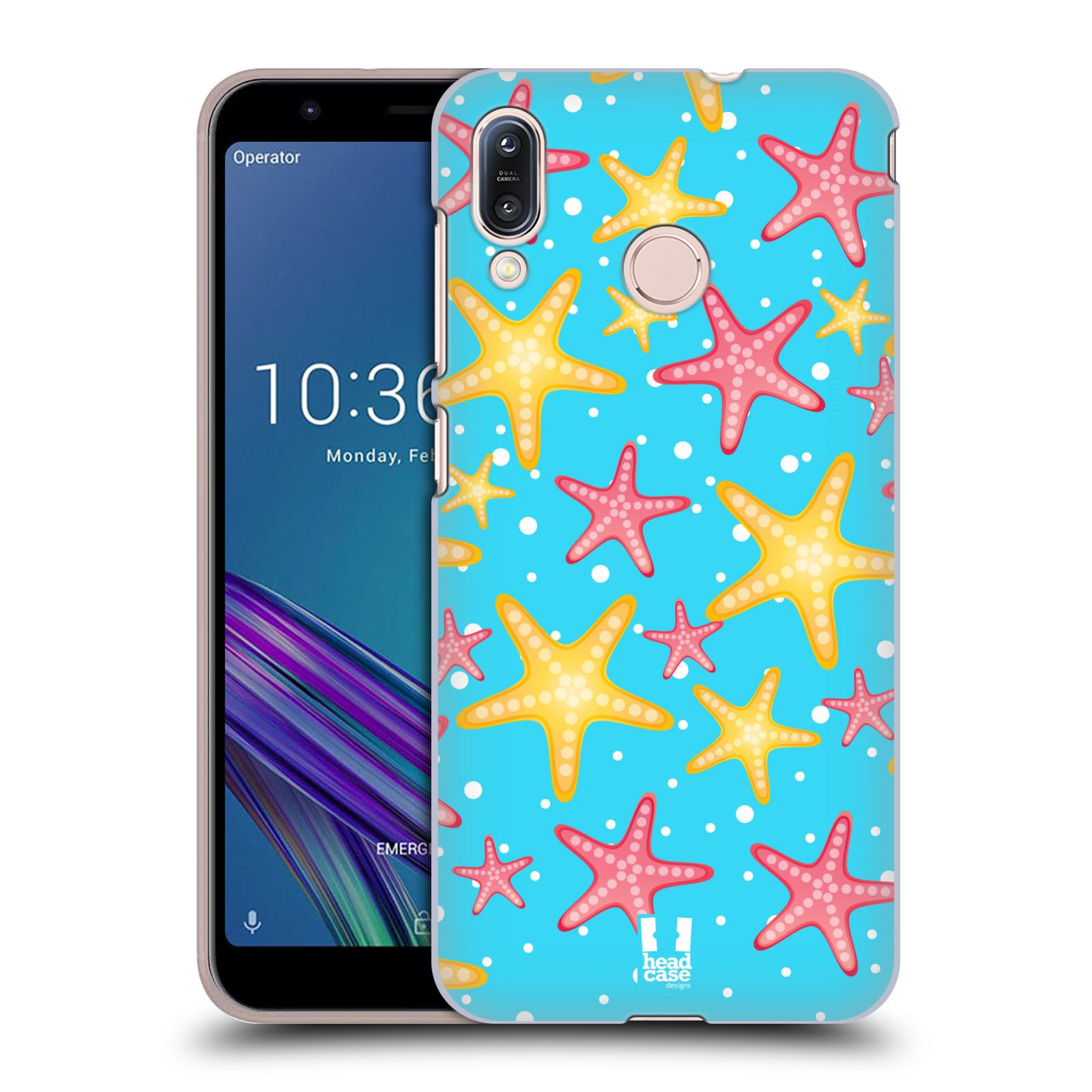 Pouzdro na mobil Asus Zenfone Max M1 (ZB555KL) - HEAD CASE - vzor mořský živočich hvězda