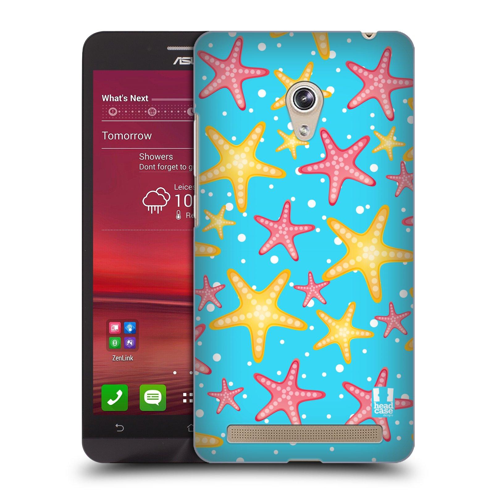 HEAD CASE plastový obal na mobil Asus Zenfone 6 vzor mořský živočich hvězda