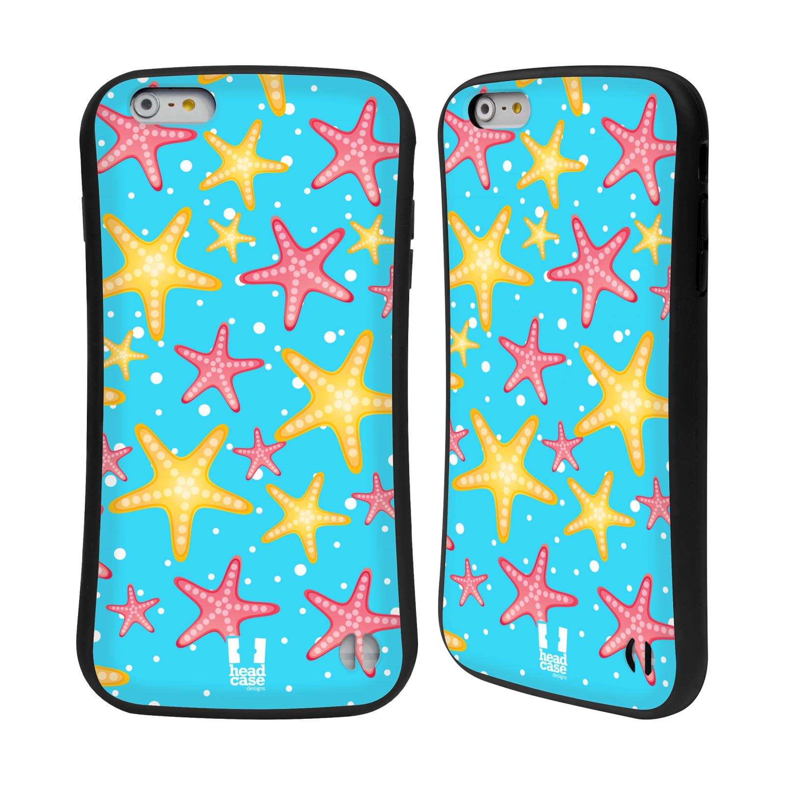 HEAD CASE silikon/plast odolný obal na mobil Apple Iphone 6 PLUS / 6S PLUS vzor mořský živočich hvězda