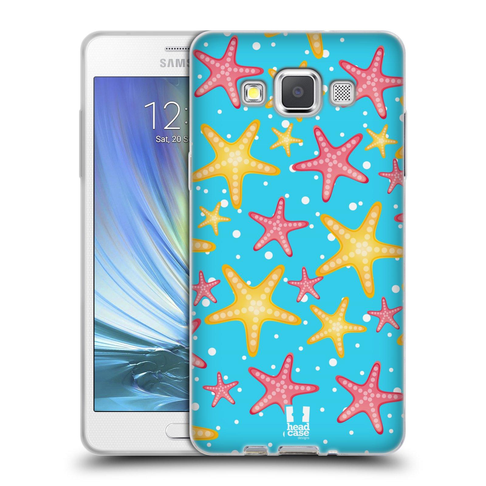 HEAD CASE silikonový obal na mobil Samsung Galaxy A5 vzor mořský živočich hvězda