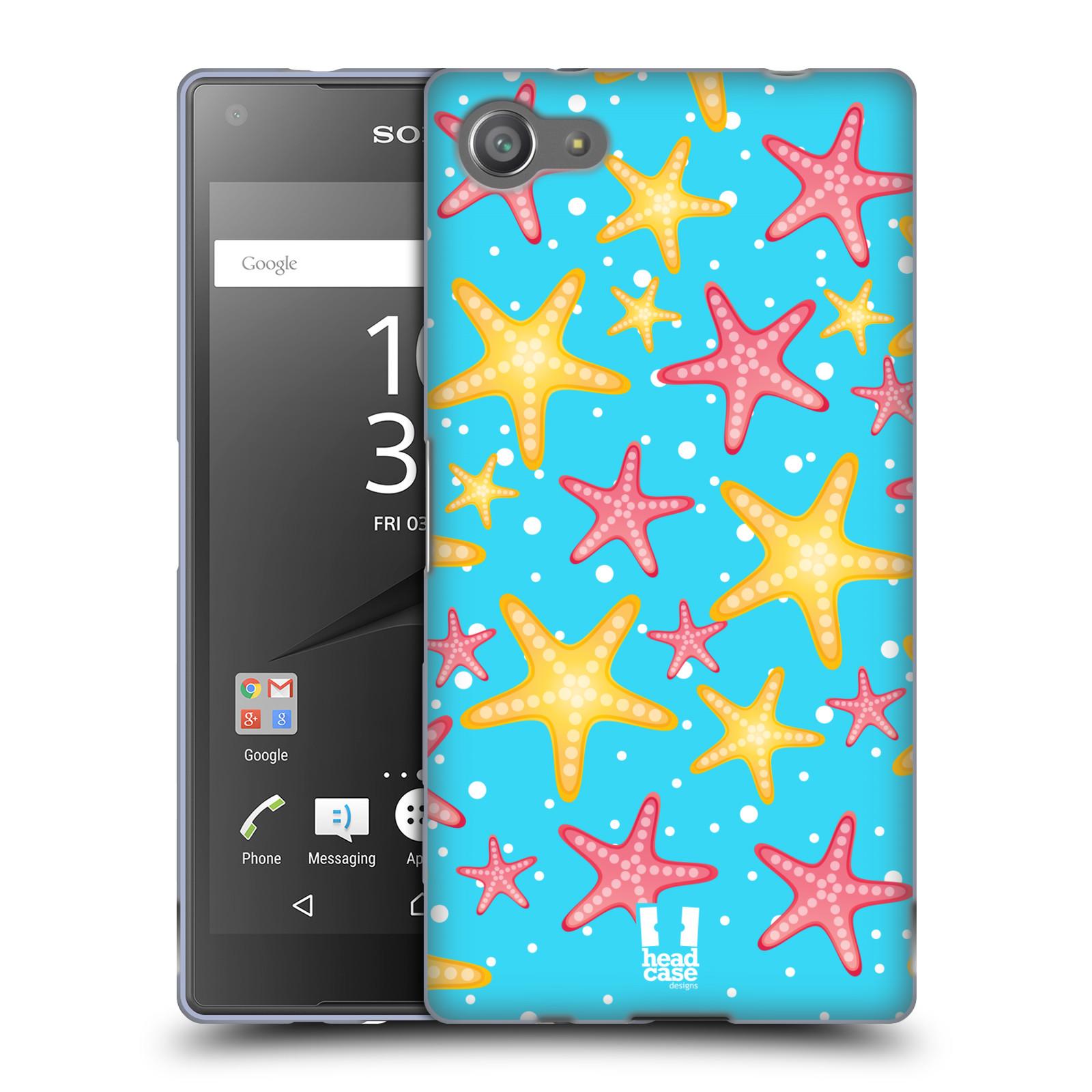 HEAD CASE silikonový obal na mobil Sony Xperia Z5 COMPACT vzor mořský živočich hvězda