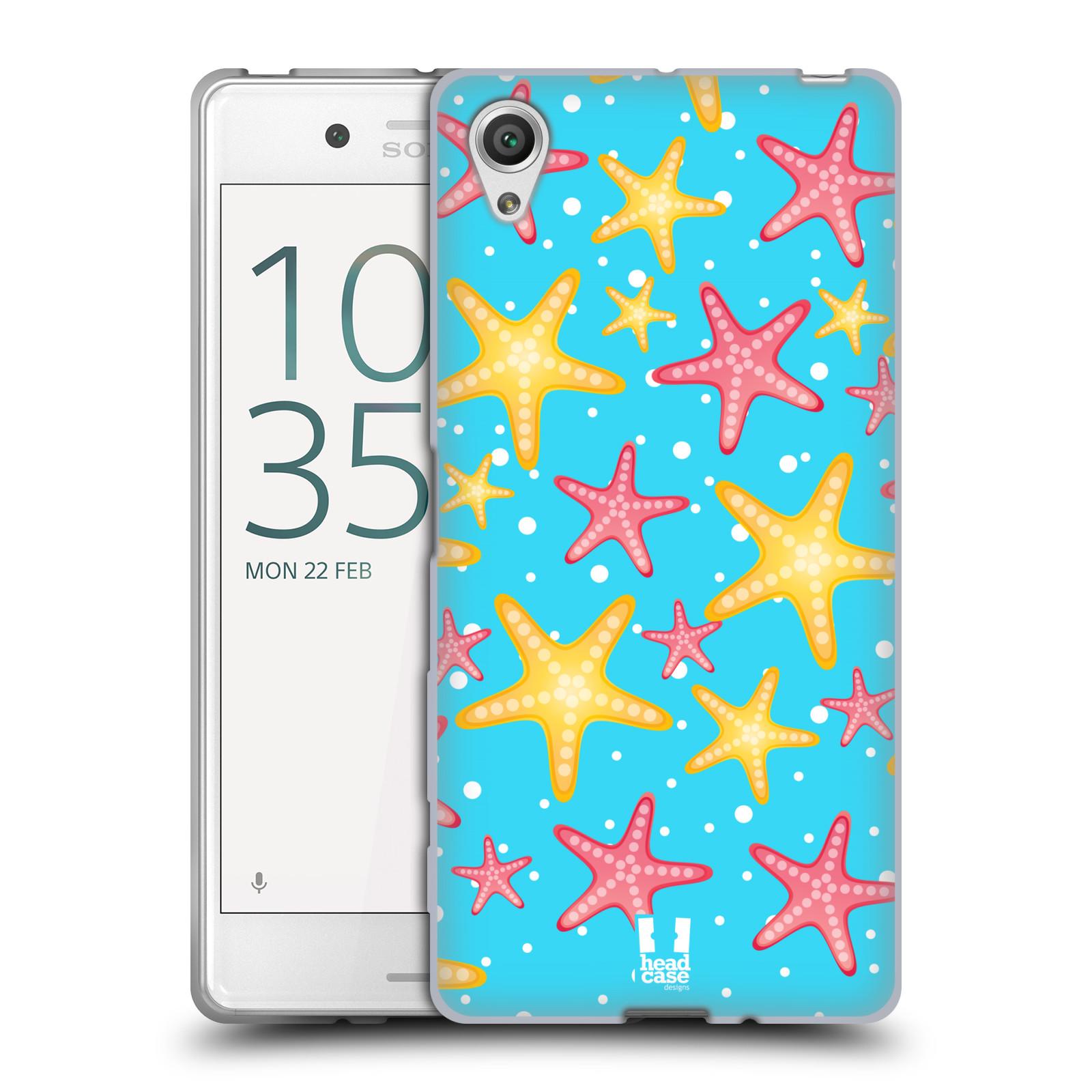 HEAD CASE silikonový obal na mobil Sony Xperia X / X DUAL vzor mořský živočich hvězda