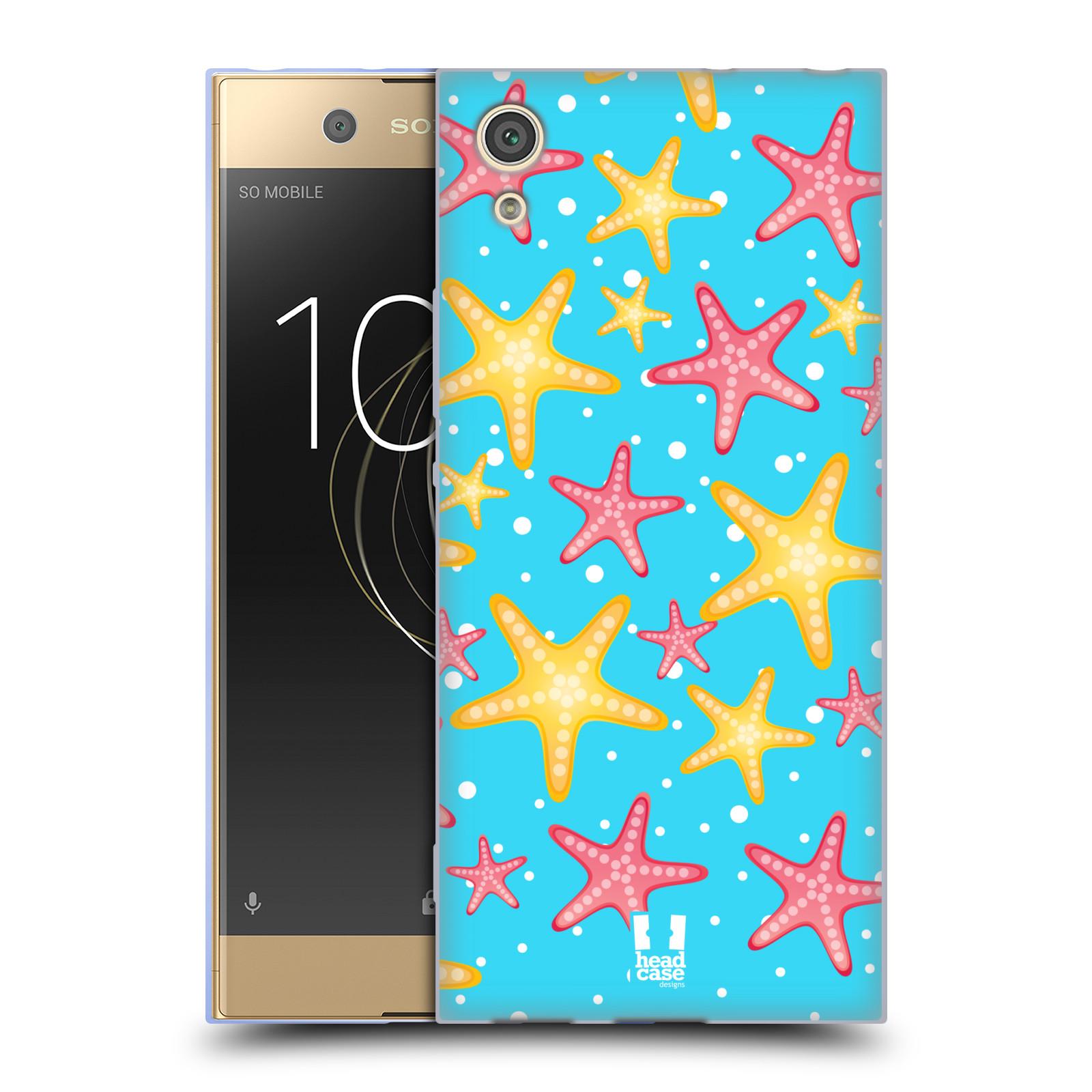 HEAD CASE silikonový obal na mobil Sony Xperia XA1 / XA1 DUAL SIM vzor mořský živočich hvězda
