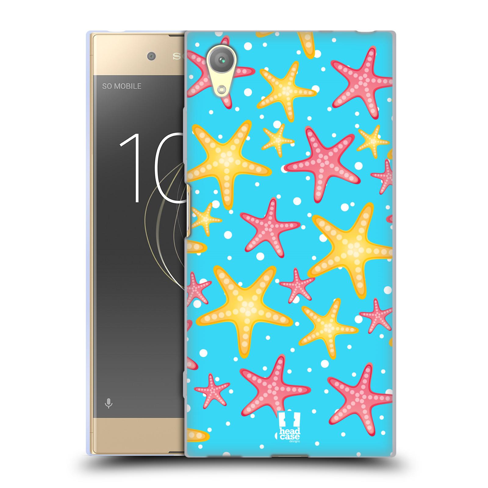 HEAD CASE silikonový obal na mobil Sony Xperia XA1 PLUS vzor mořský živočich hvězda