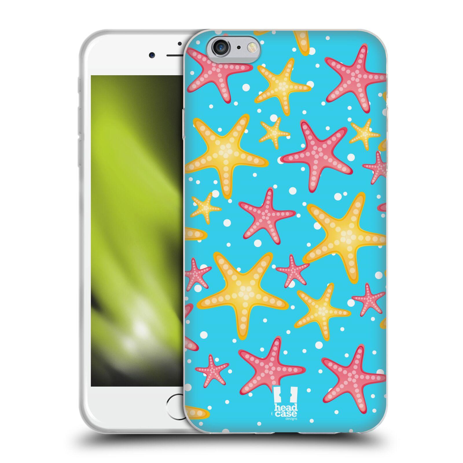 HEAD CASE silikonový obal na mobil Apple Iphone 6 PLUS/ 6S PLUS vzor mořský živočich hvězda