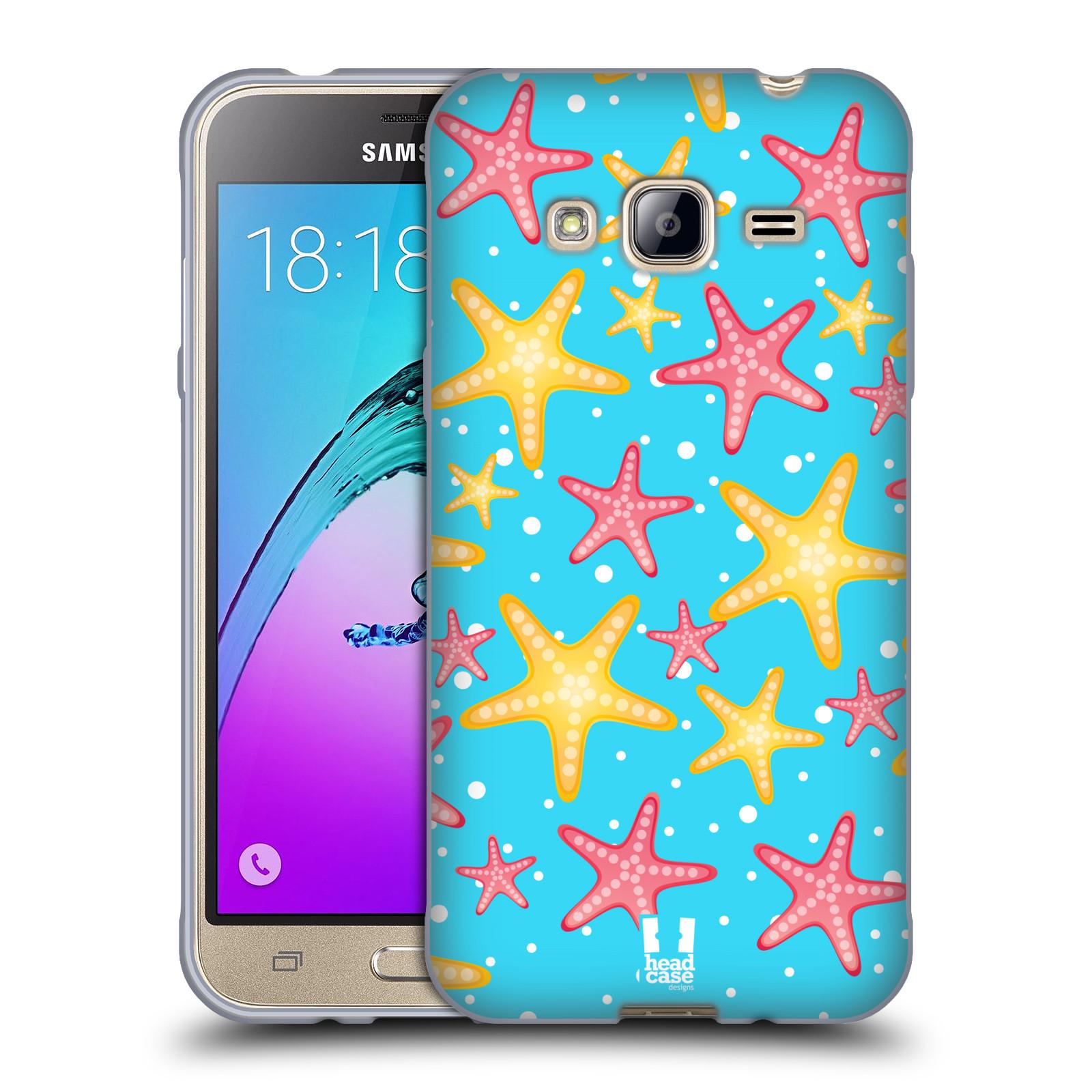 HEAD CASE silikonový obal na mobil Samsung Galaxy J3, J3 2016 vzor mořský živočich hvězda