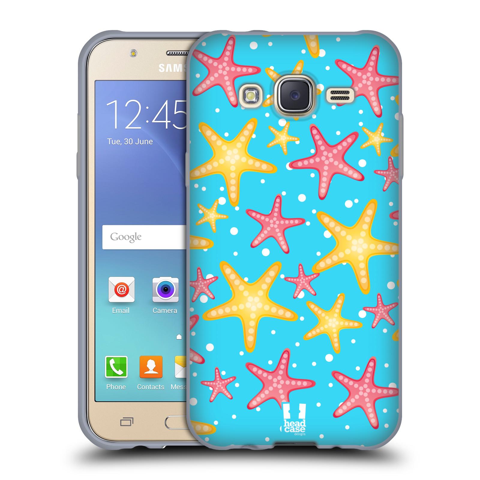 HEAD CASE silikonový obal na mobil Samsung Galaxy J5, J500, (J5 DUOS) vzor mořský živočich hvězda