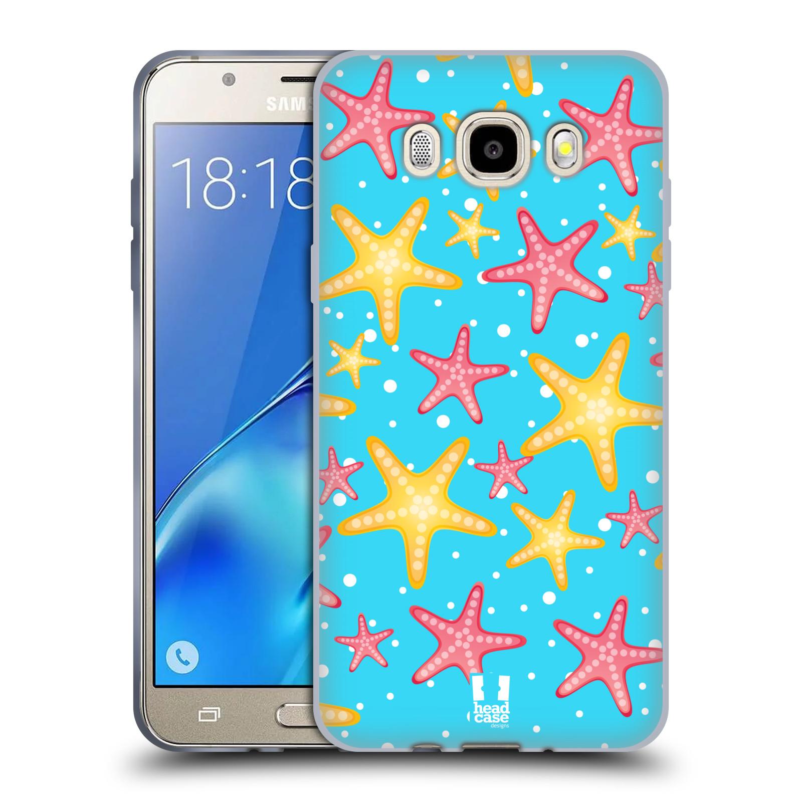 HEAD CASE silikonový obal, kryt na mobil Samsung Galaxy J5 2016, J510, J510F, (J510F DUAL SIM) vzor mořský živočich hvězda