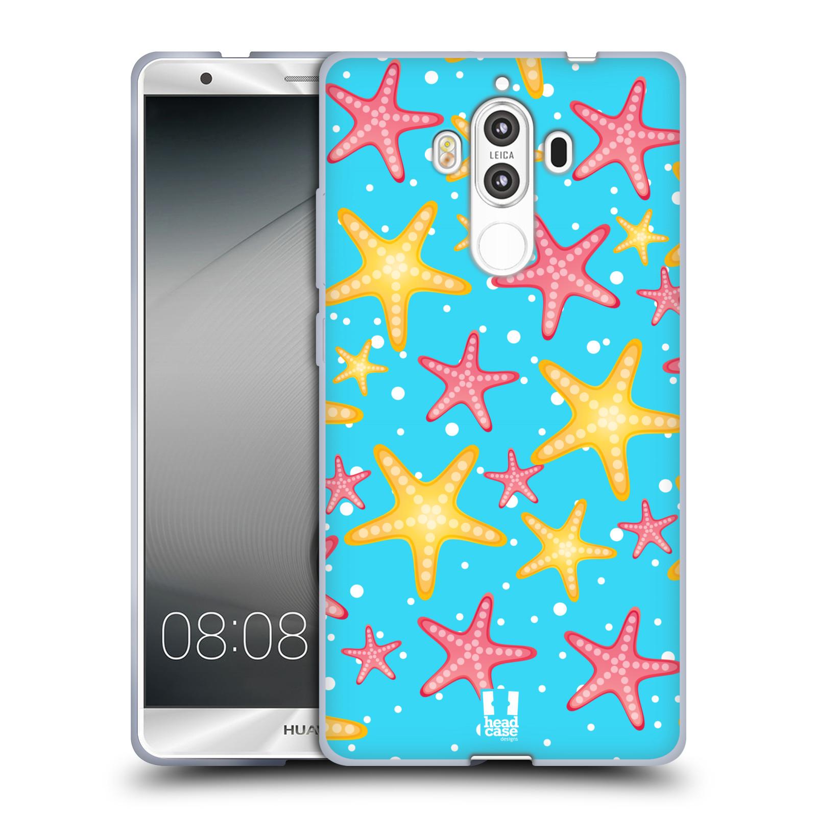 HEAD CASE silikonový obal na mobil Huawei Mate 9 vzor mořský živočich hvězda