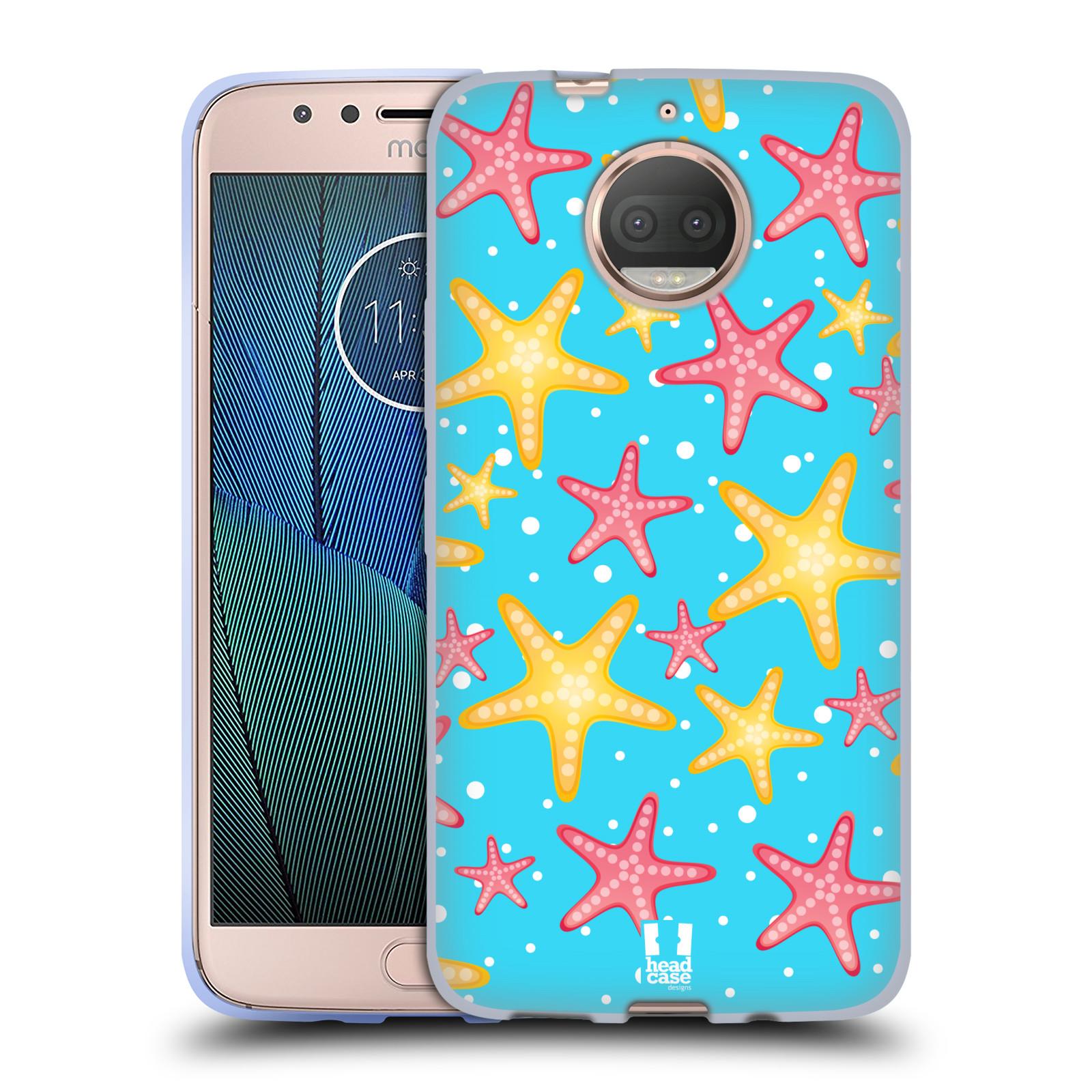 HEAD CASE silikonový obal na mobil Lenovo Moto G5s PLUS vzor mořský živočich hvězda