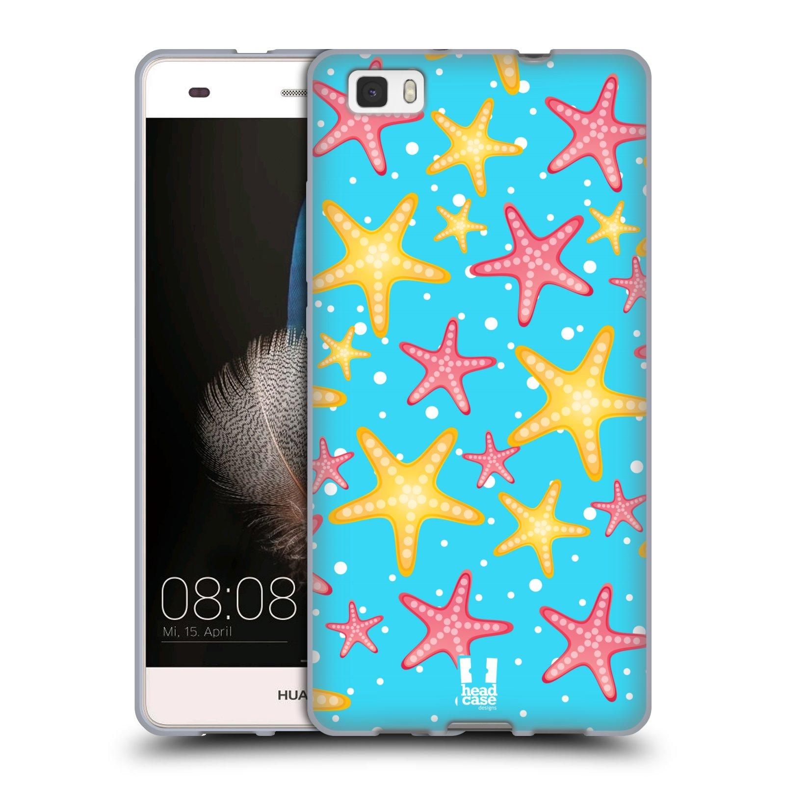 HEAD CASE silikonový obal na mobil HUAWEI P8 LITE vzor mořský živočich hvězda