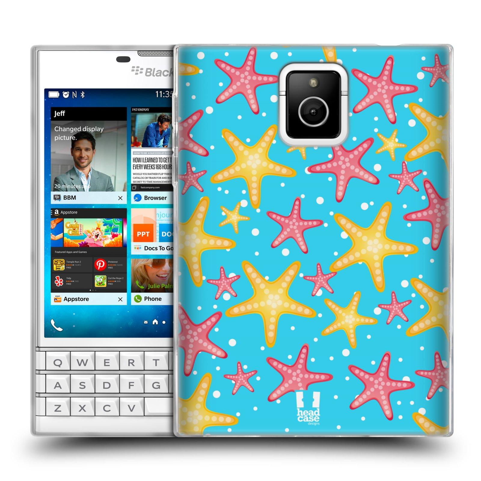 HEAD CASE silikonový obal na mobil Blackberry PASSPORT vzor mořský živočich hvězda