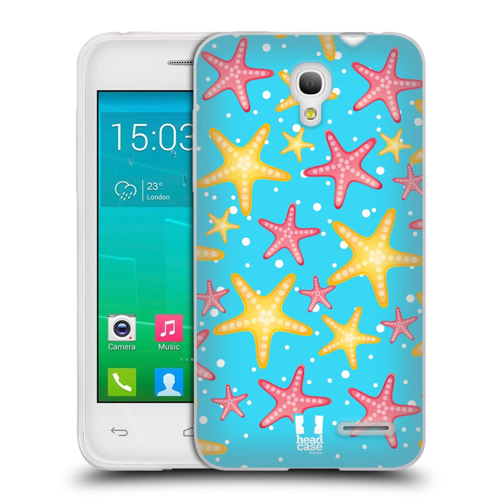 HEAD CASE silikonový obal na mobil Alcatel POP S3 OT-5050Y vzor mořský živočich hvězda