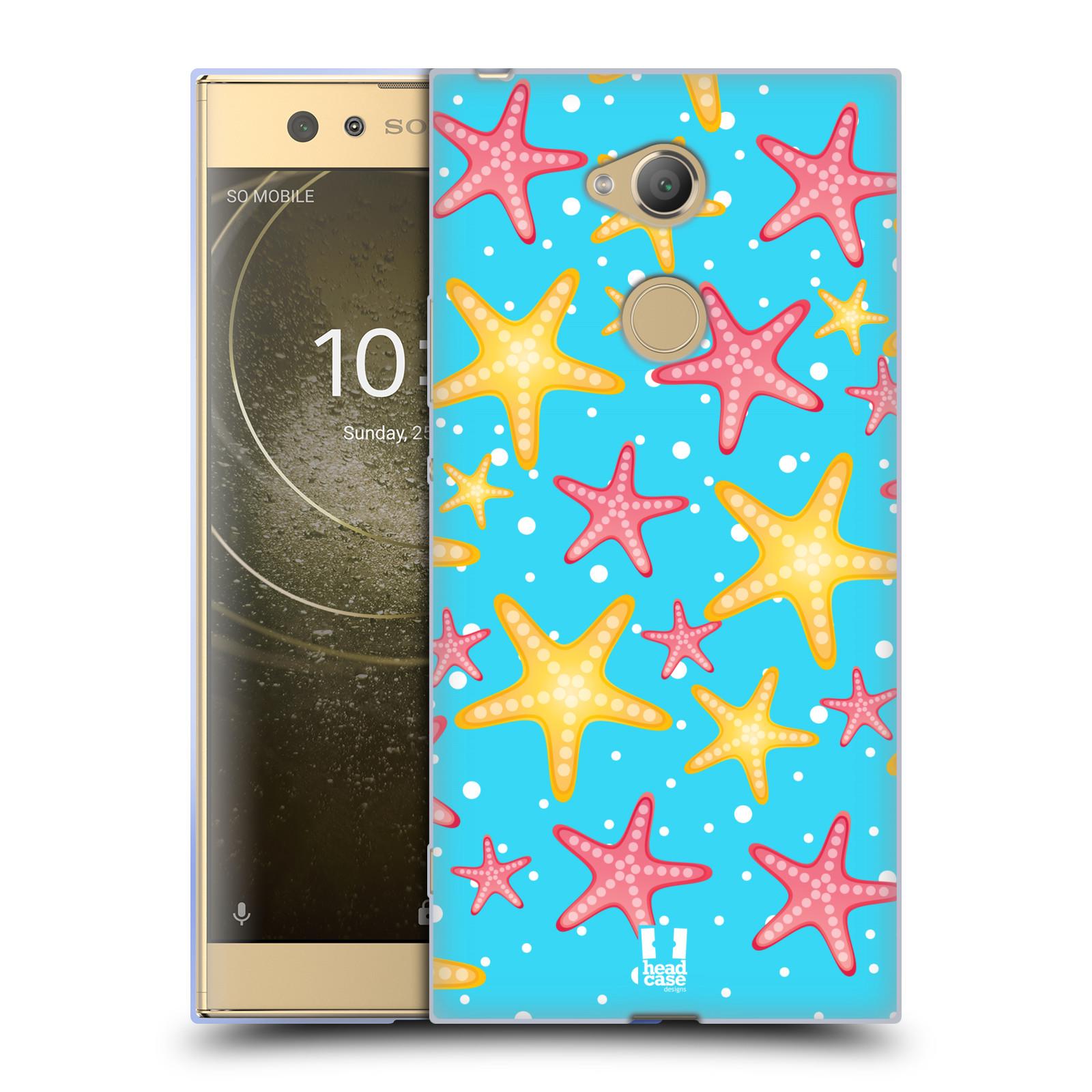 Pouzdro na mobil Sony Xperia XA2 Ultra vzor mořský živočich hvězda