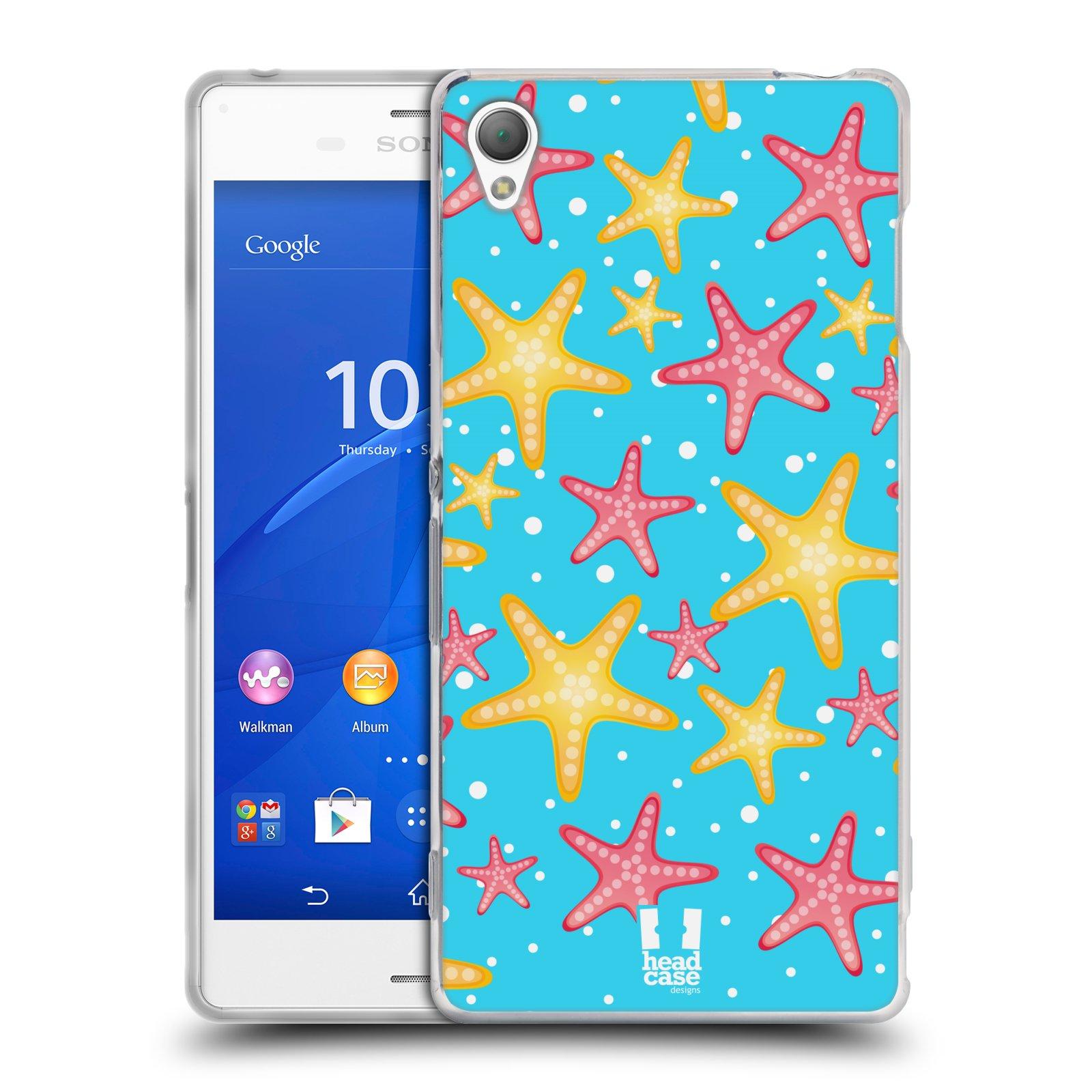 HEAD CASE silikonový obal na mobil Sony Xperia Z3 vzor mořský živočich hvězda