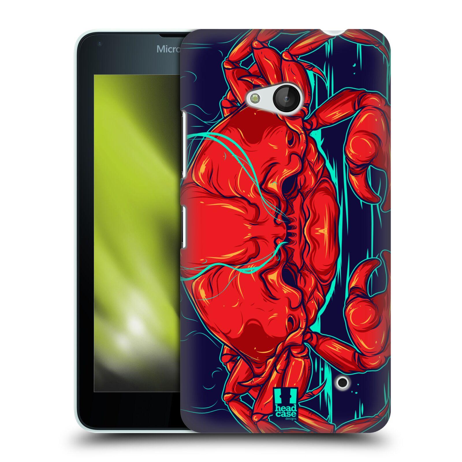 HEAD CASE plastový obal na mobil Nokia Lumia 640 vzor mořská monstra krab