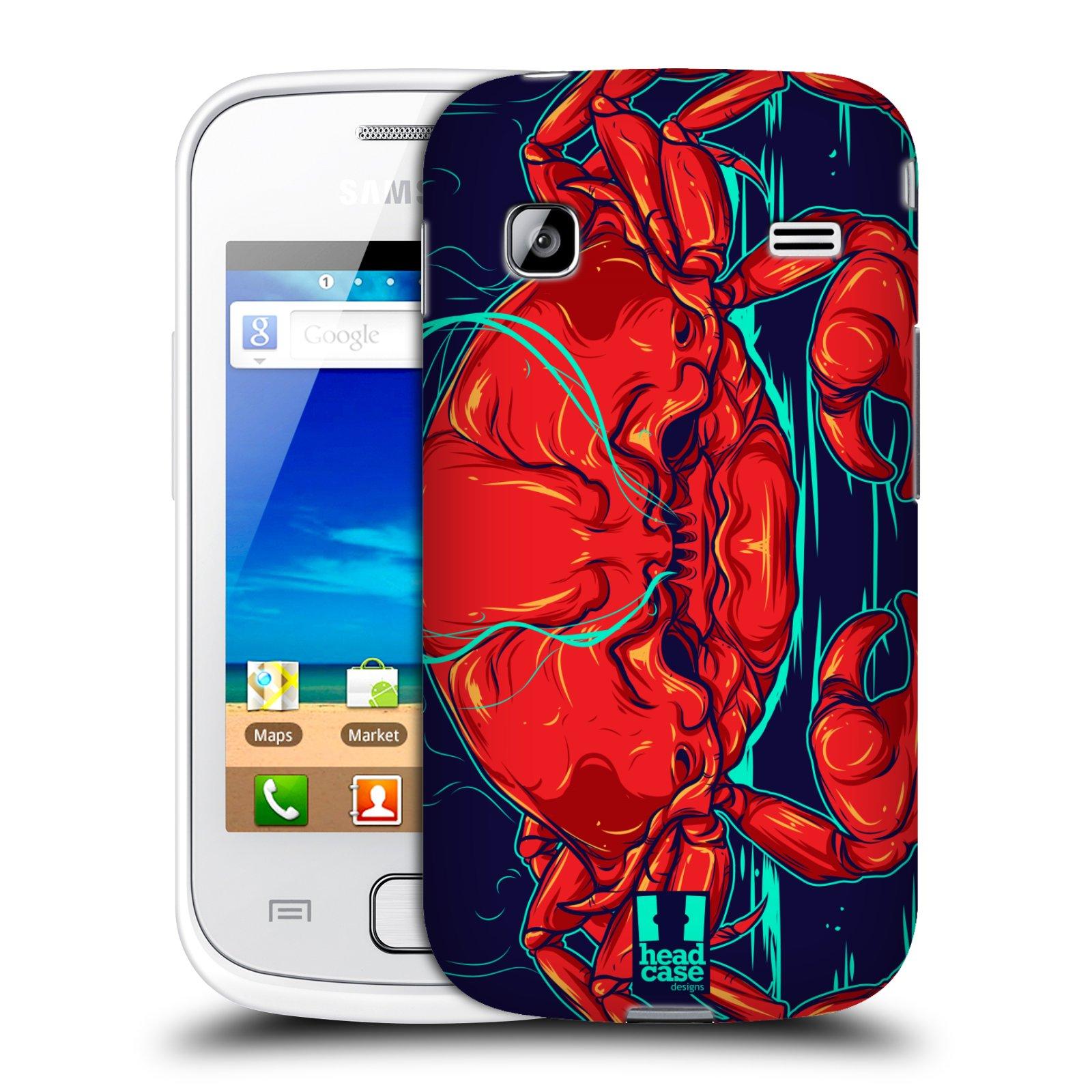 HEAD CASE plastový obal na mobil SAMSUNG GALAXY GIO (S5660) vzor mořská monstra krab