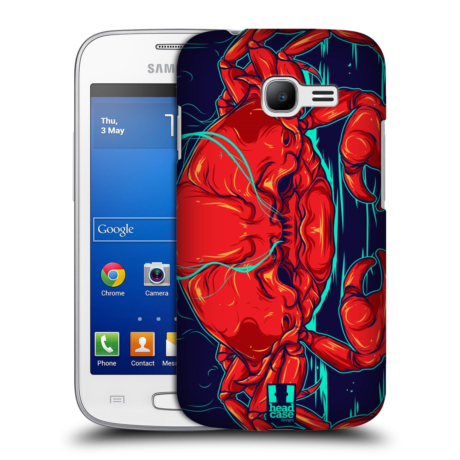 HEAD CASE plastový obal na mobil SAMSUNG GALAXY Star Pro S7260/S7262 DUOS vzor mořská monstra krab