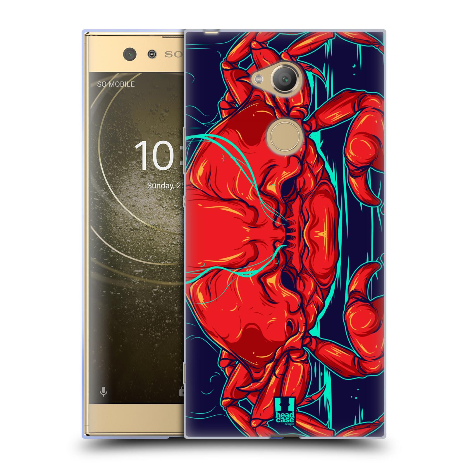Pouzdro na mobil Sony Xperia XA2 Ultra vzor mořská monstra krab