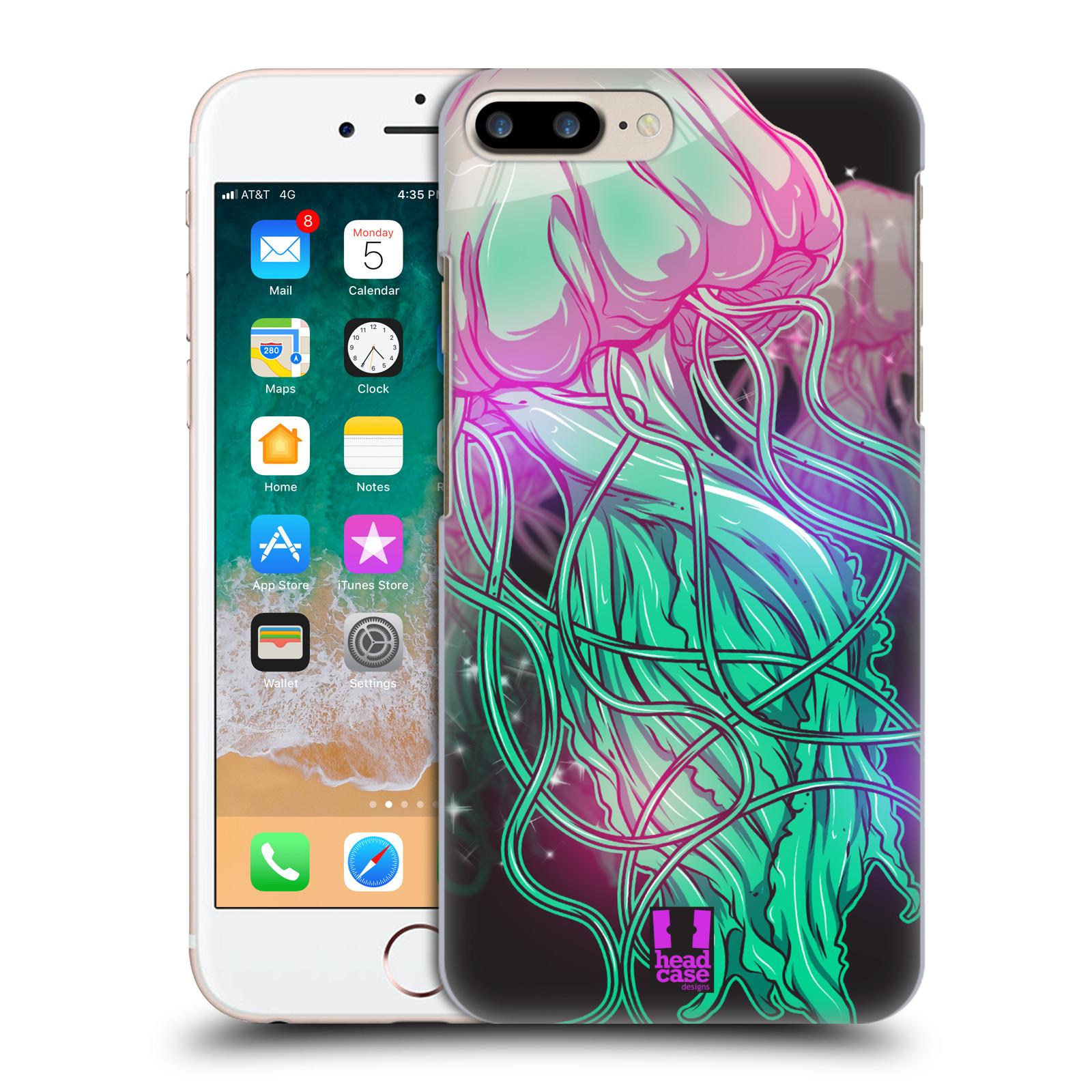 HEAD CASE plastový obal na mobil Apple Iphone 7 PLUS vzor mořská monstra medůza