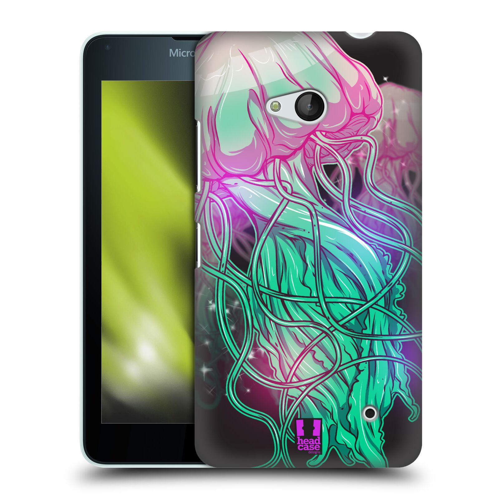HEAD CASE plastový obal na mobil Nokia Lumia 640 vzor mořská monstra medůza