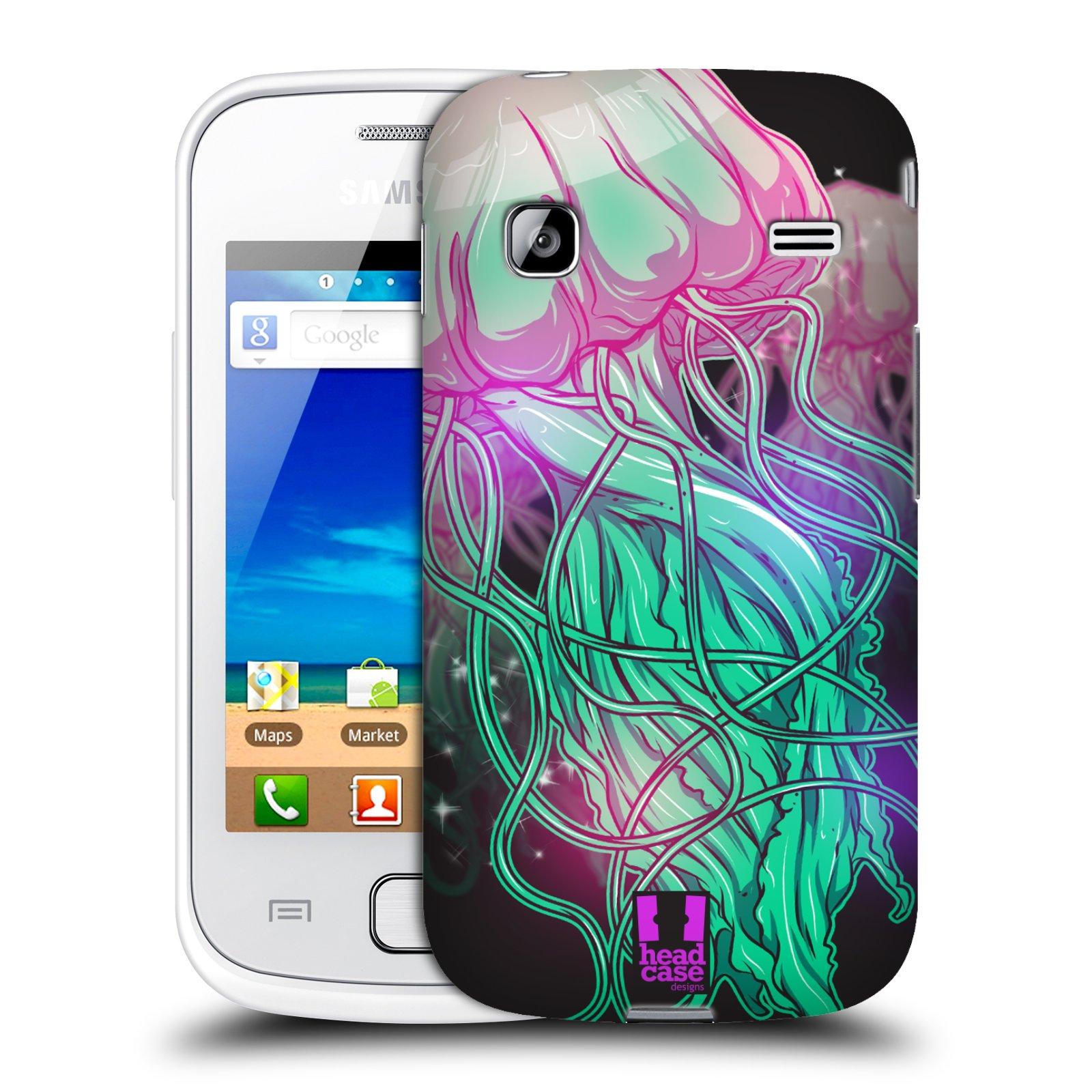 HEAD CASE plastový obal na mobil SAMSUNG GALAXY GIO (S5660) vzor mořská monstra medůza