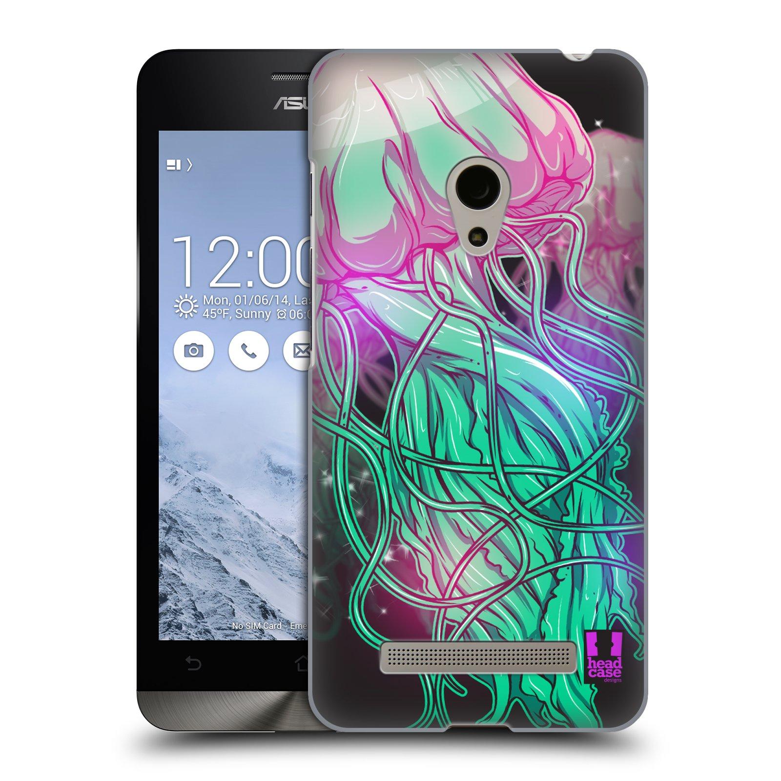 HEAD CASE plastový obal na mobil Asus Zenfone 5 vzor mořská monstra medůza