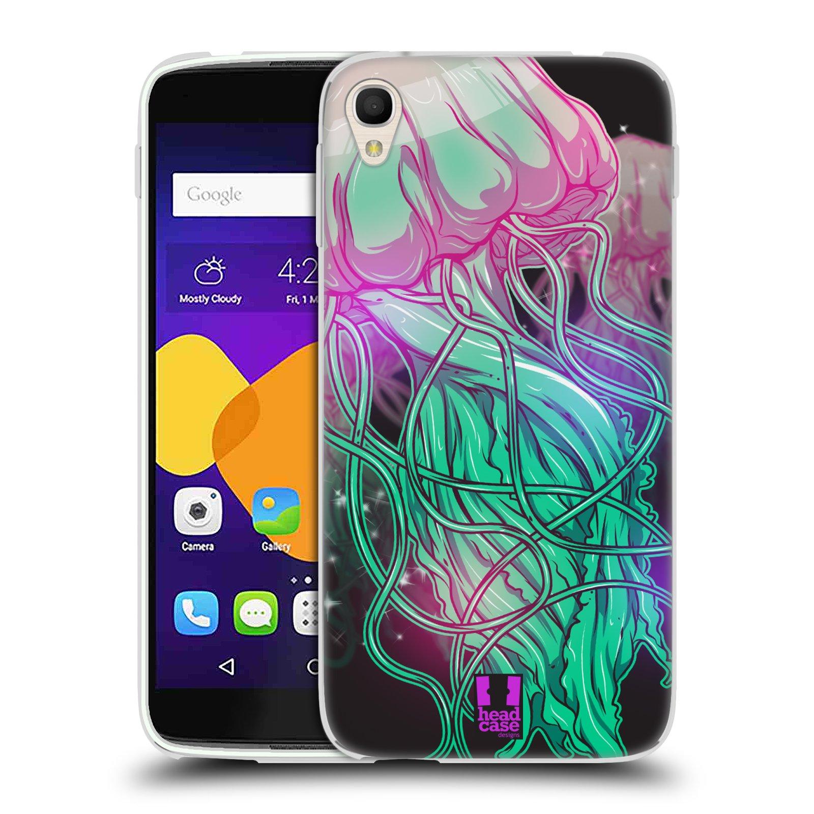 HEAD CASE silikonový obal na mobil Alcatel Idol 3 OT-6045Y (5.5) vzor mořská monstra medůza