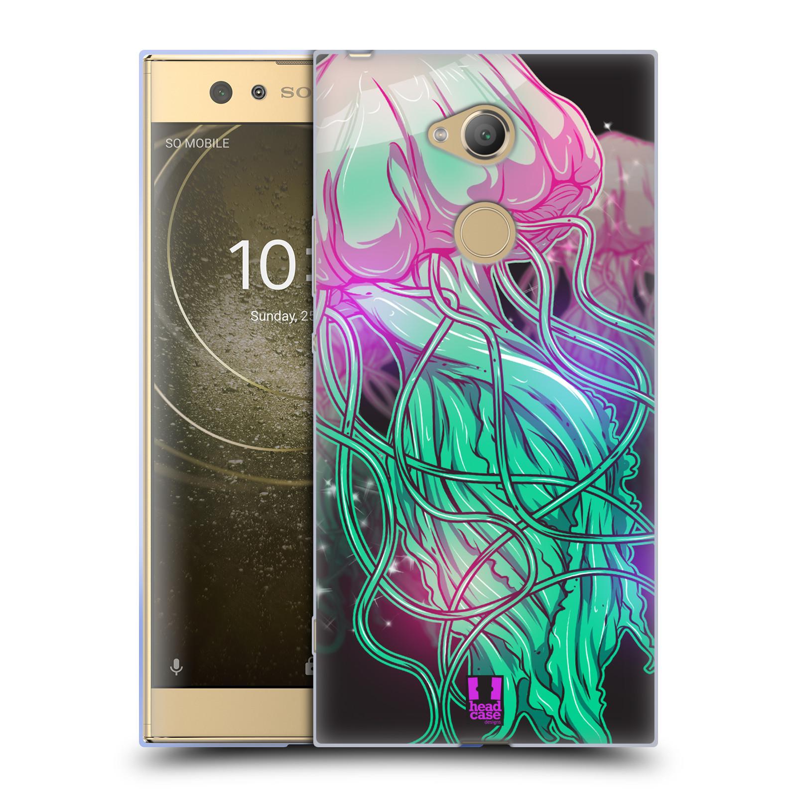Pouzdro na mobil Sony Xperia XA2 Ultra vzor mořská monstra medůza