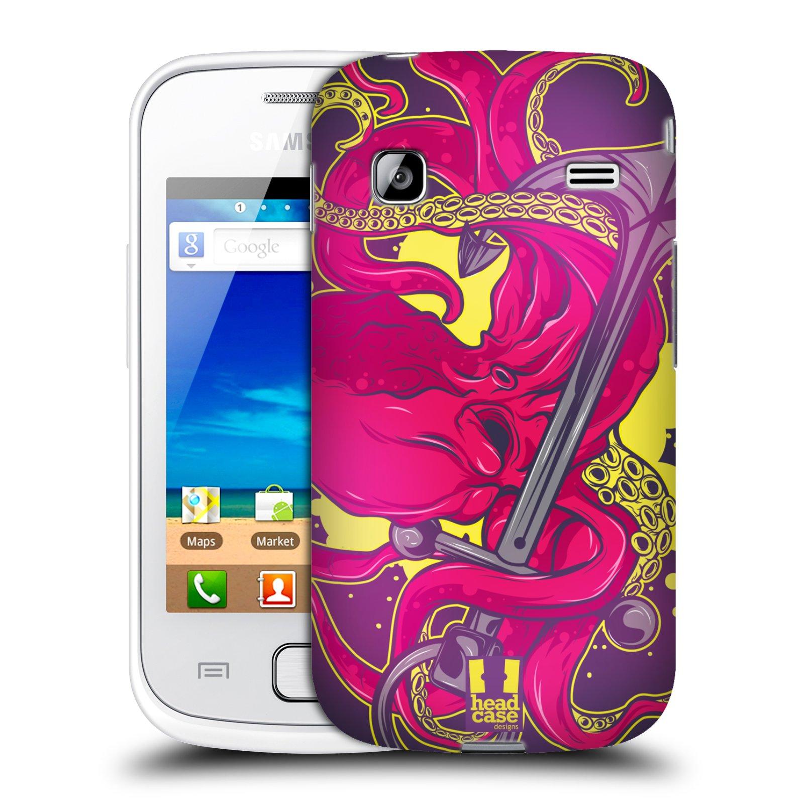 HEAD CASE plastový obal na mobil SAMSUNG GALAXY GIO (S5660) vzor mořská monstra chobotnice