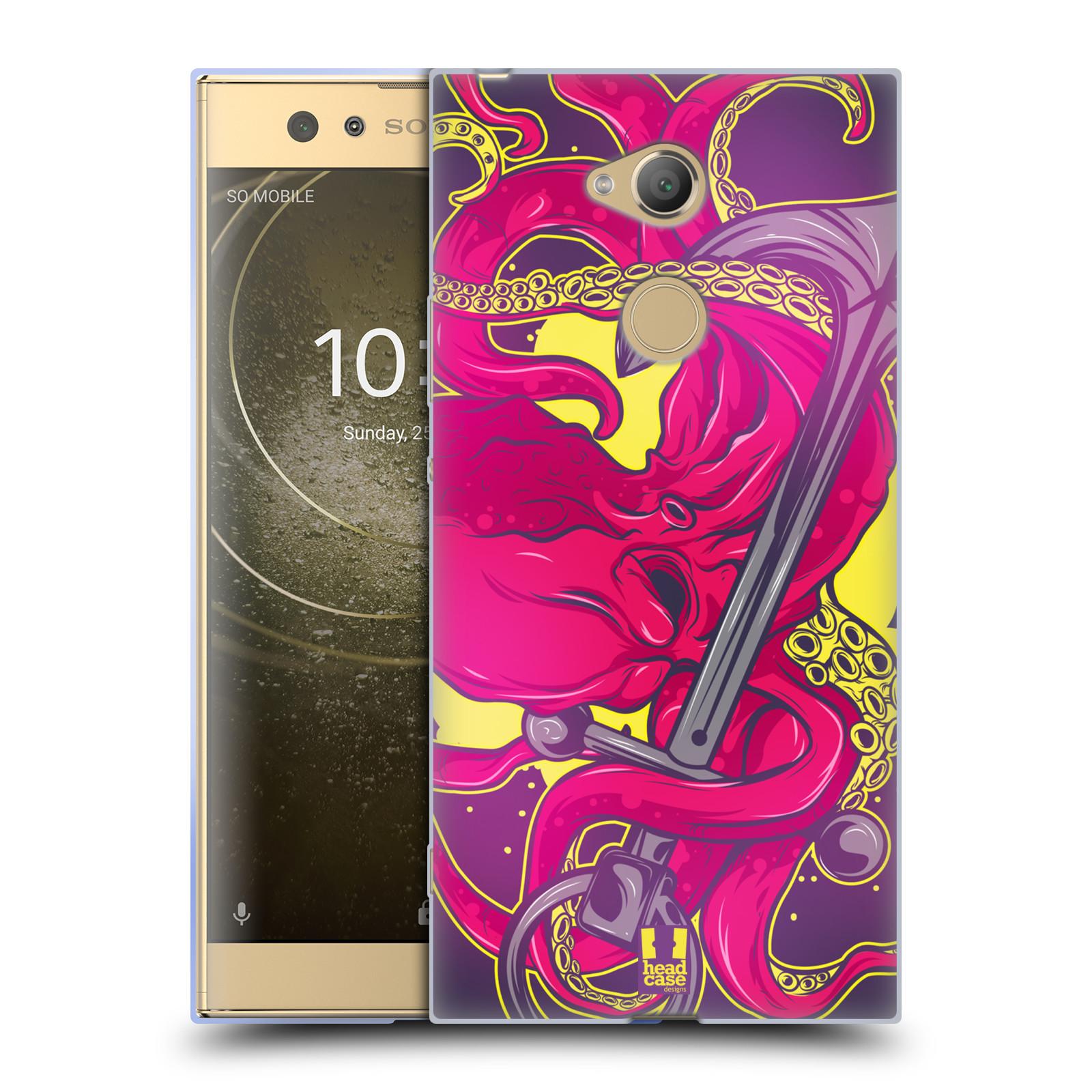 Pouzdro na mobil Sony Xperia XA2 Ultra vzor mořská monstra chobotnice