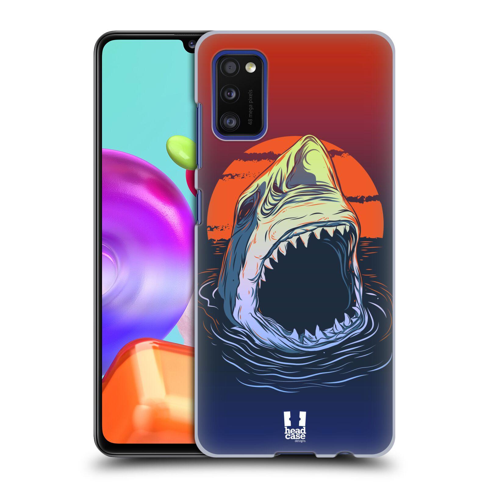 Zadní kryt na mobil Samsung Galaxy A41 vzor mořská monstra žralok