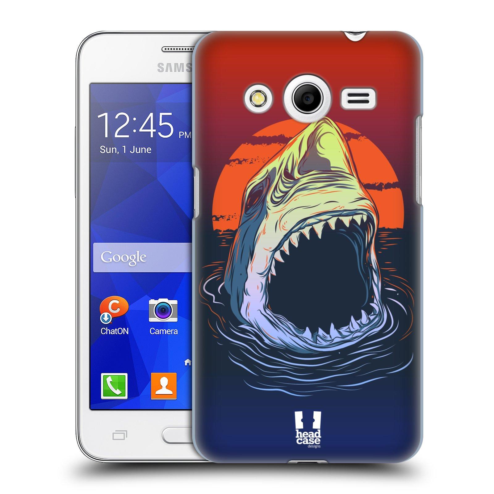 HEAD CASE plastový obal na mobil SAMSUNG GALAXY Core 2 (G355H) vzor mořská monstra žralok