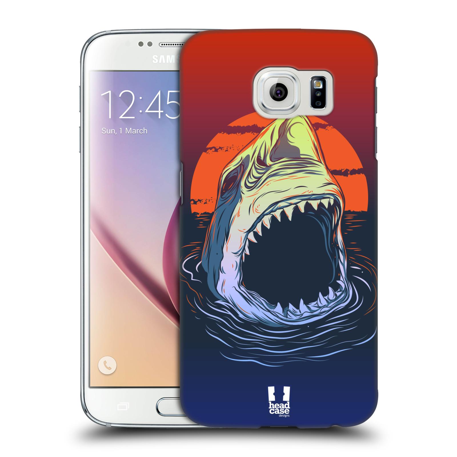 HEAD CASE plastový obal na mobil SAMSUNG Galaxy S6 (G9200, G920F) vzor mořská monstra žralok
