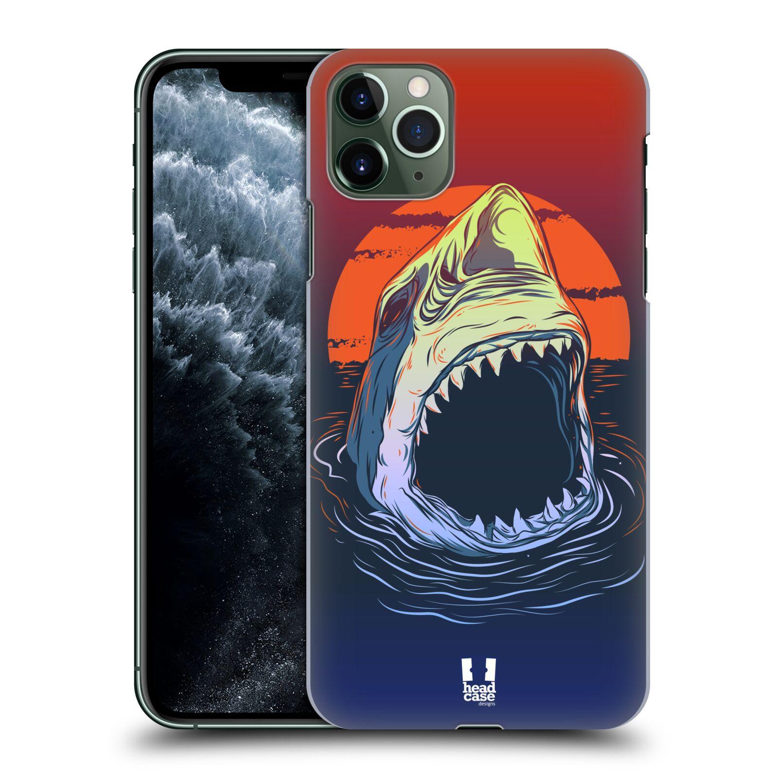 Pouzdro na mobil Apple Iphone 11 PRO MAX - HEAD CASE - vzor mořská monstra žralok